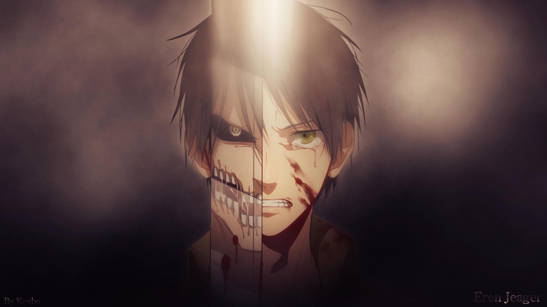 Shingeki No Kyojin Eren Jeager Anime Manga Anime Boys Wallpaper Resolution 1920x1080 Id 170467 Wallha Com