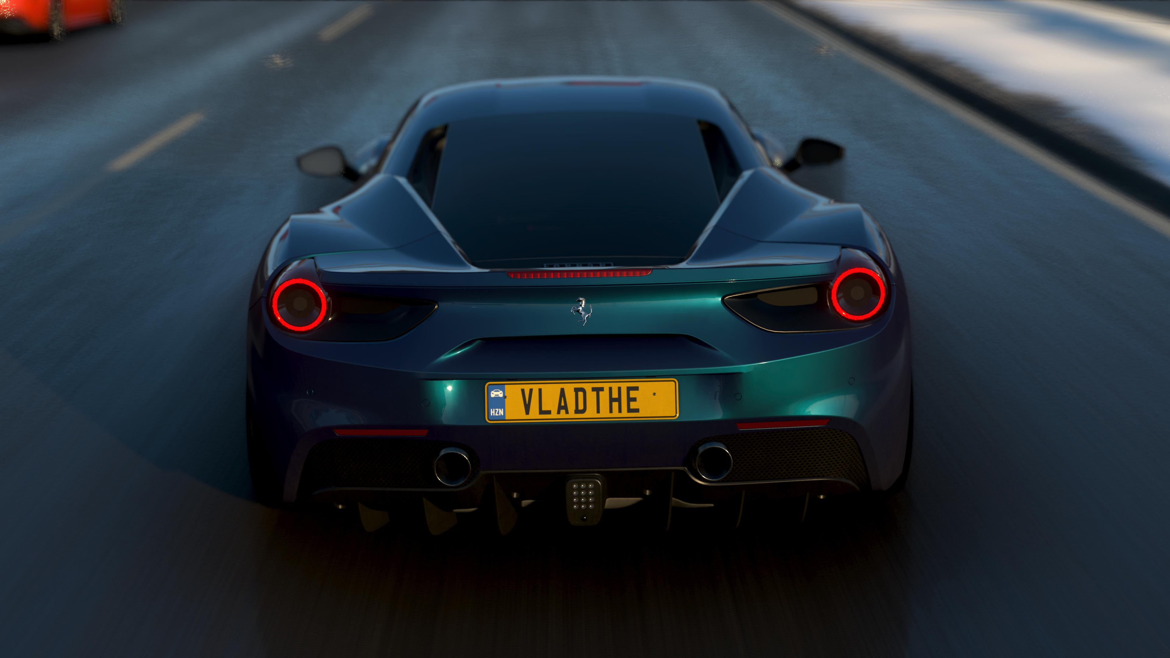 Forza Forza Horizon 4 Video Games Ferrari Car Vehicle Ferrari 488 Wallpaper Resolution 3840x2160 Id 160488 Wallha Com