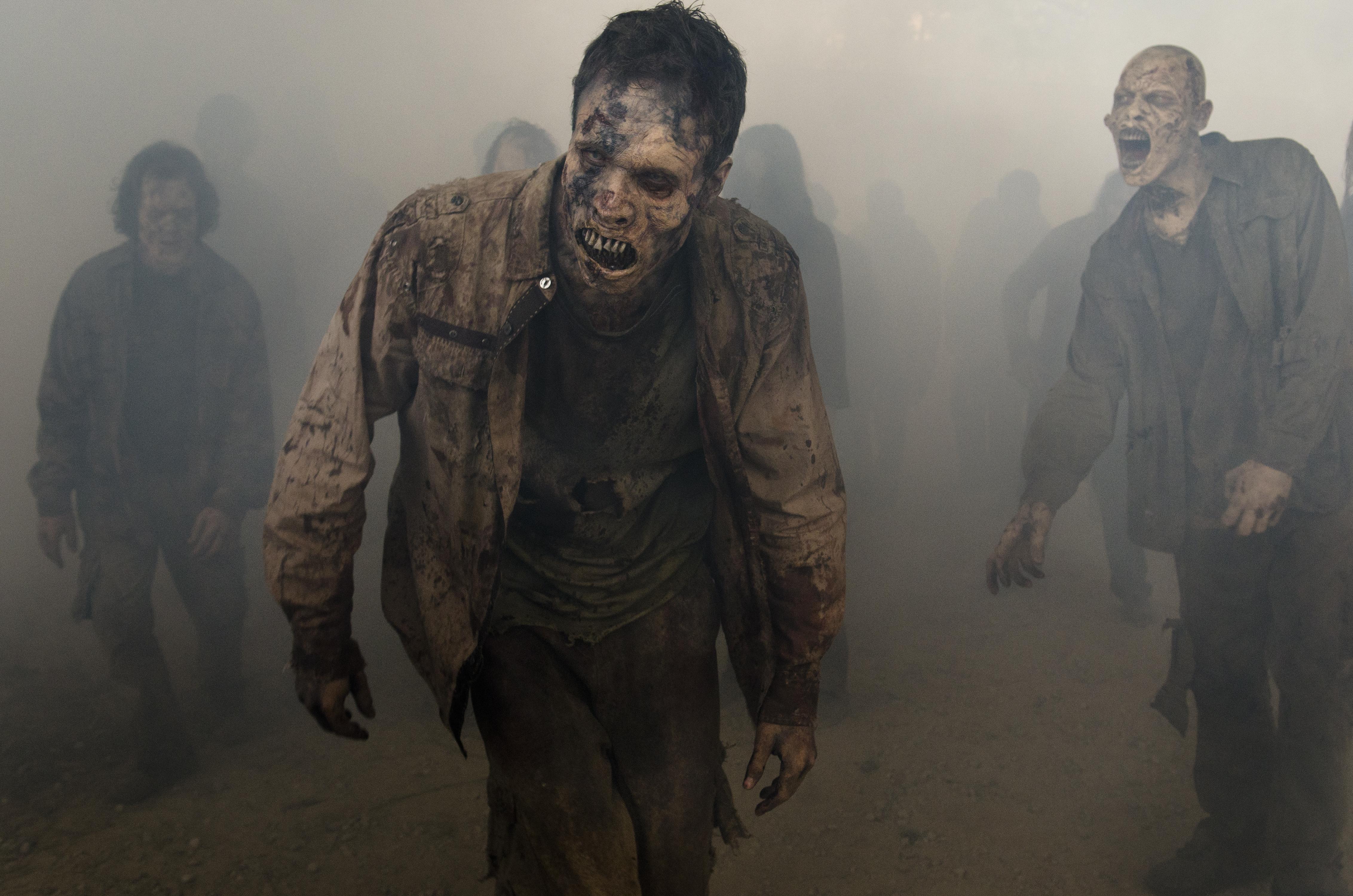 The Walking Dead Zombie 4529x3000