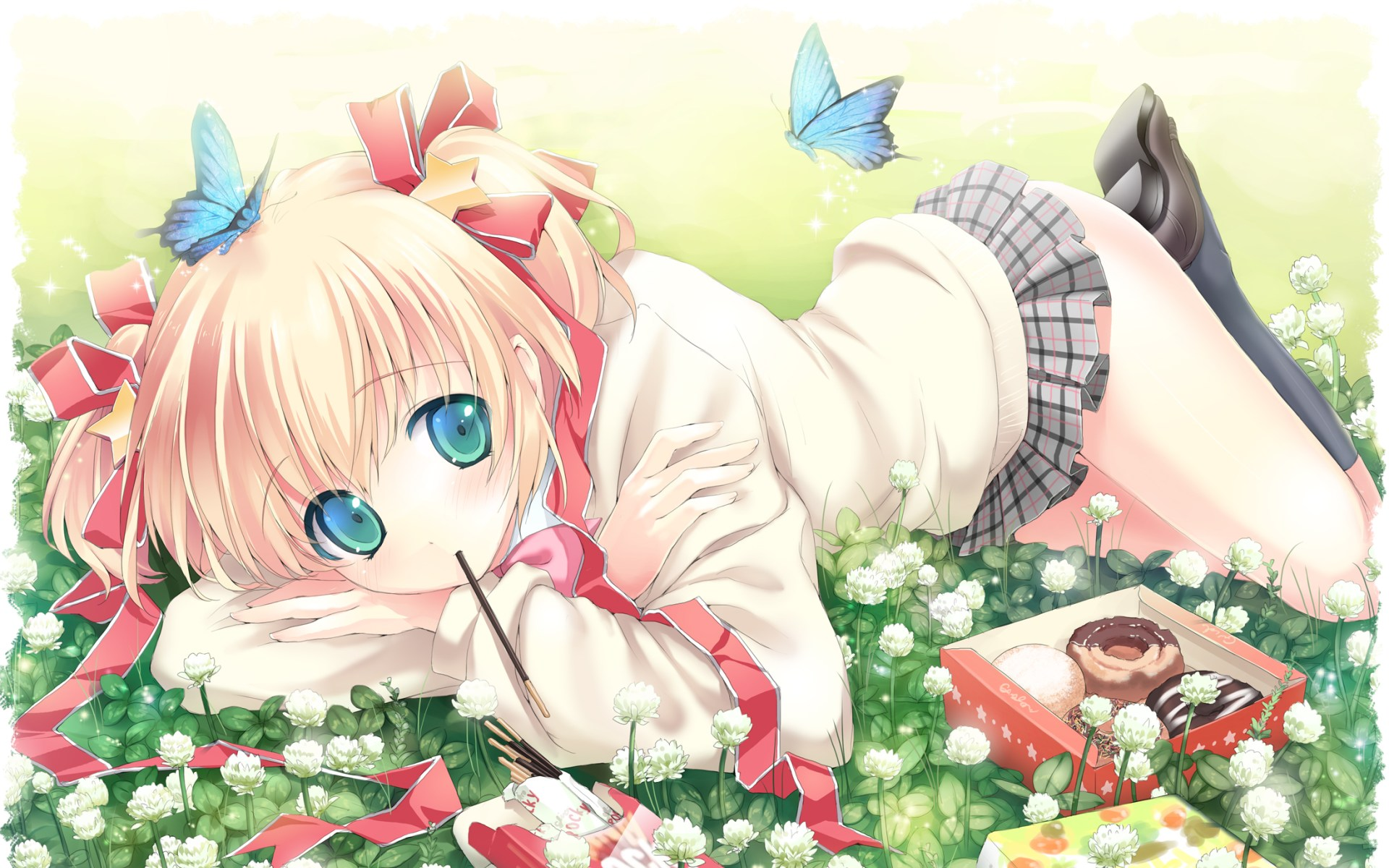 Anime Little Busters 1920x1200