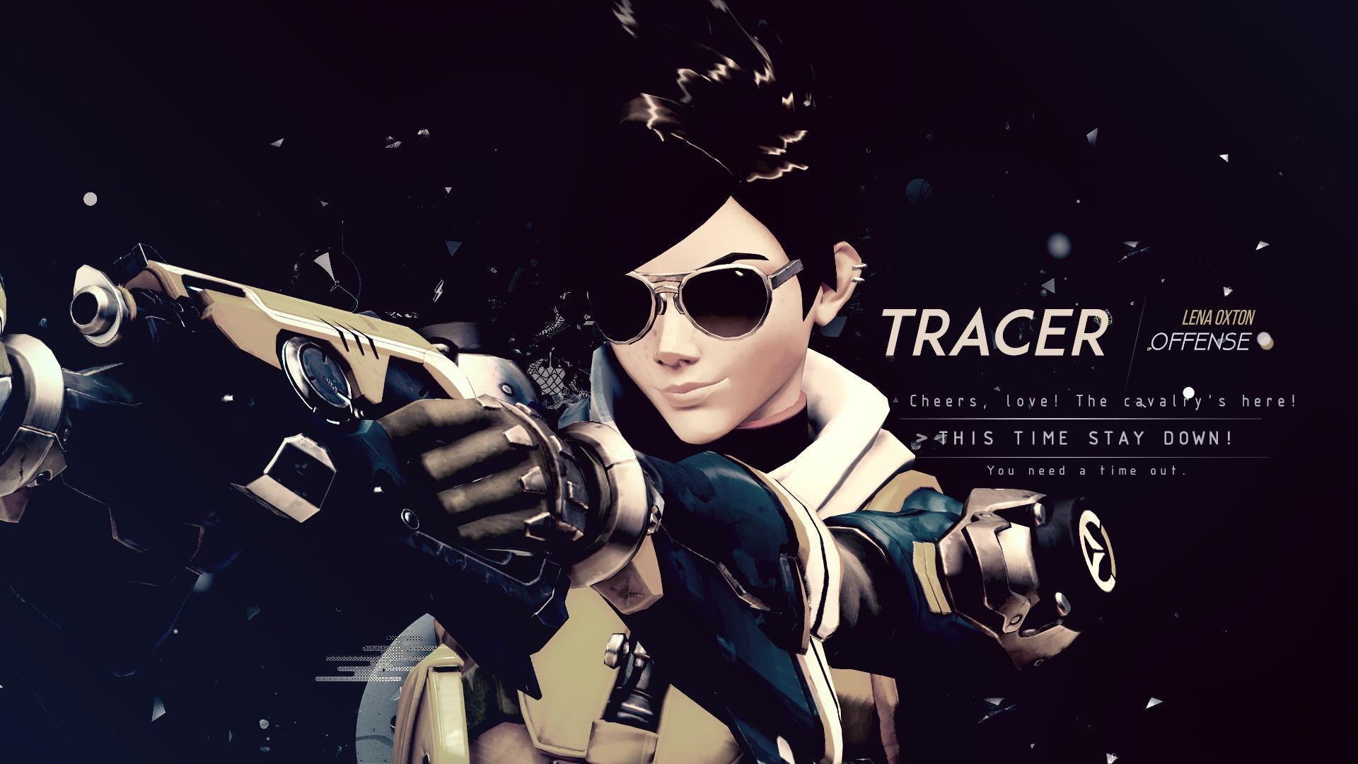 Overwatch Tracer Overwatch 1920x1080