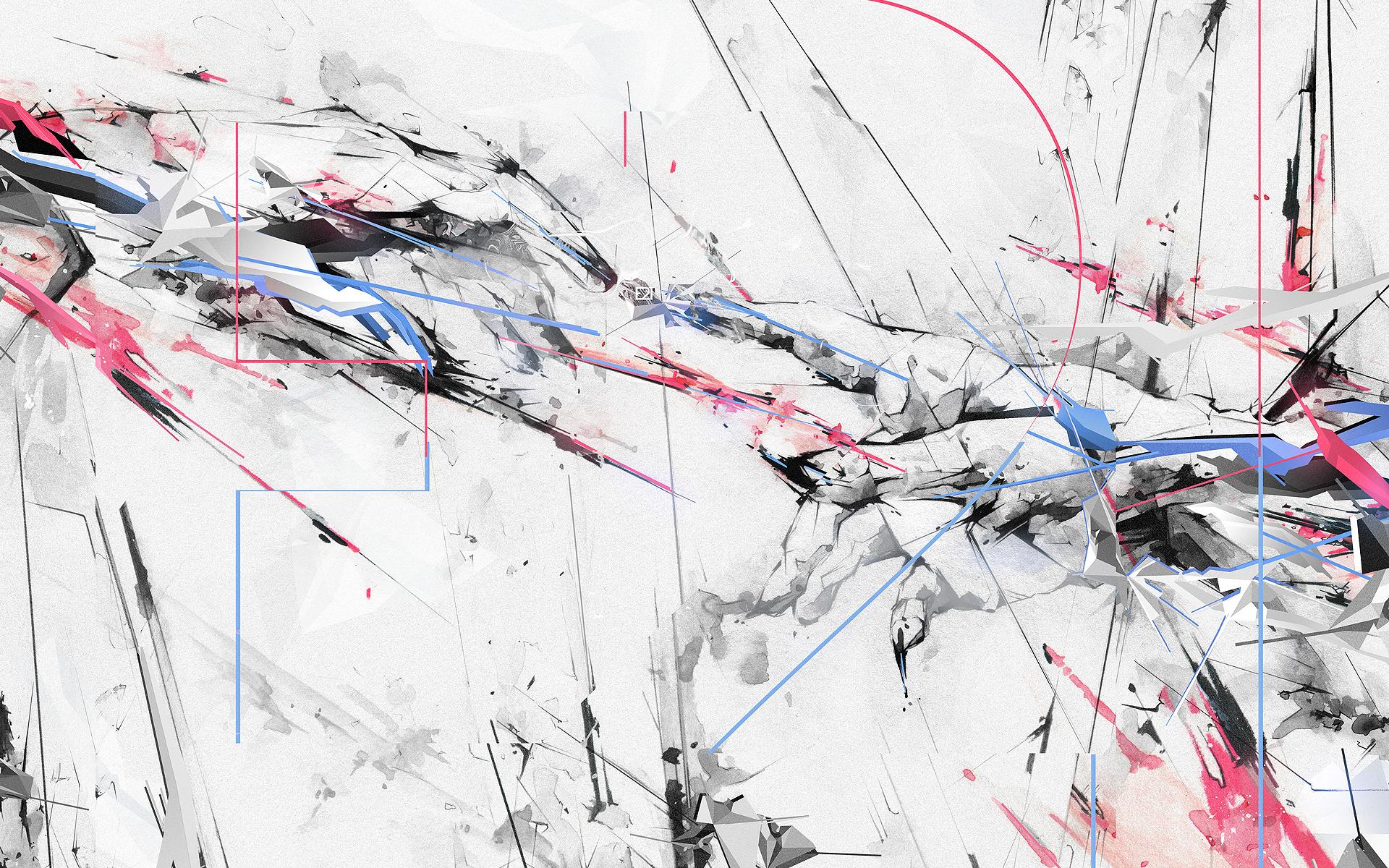 Abstract Artistic Digital Art 1920x1200