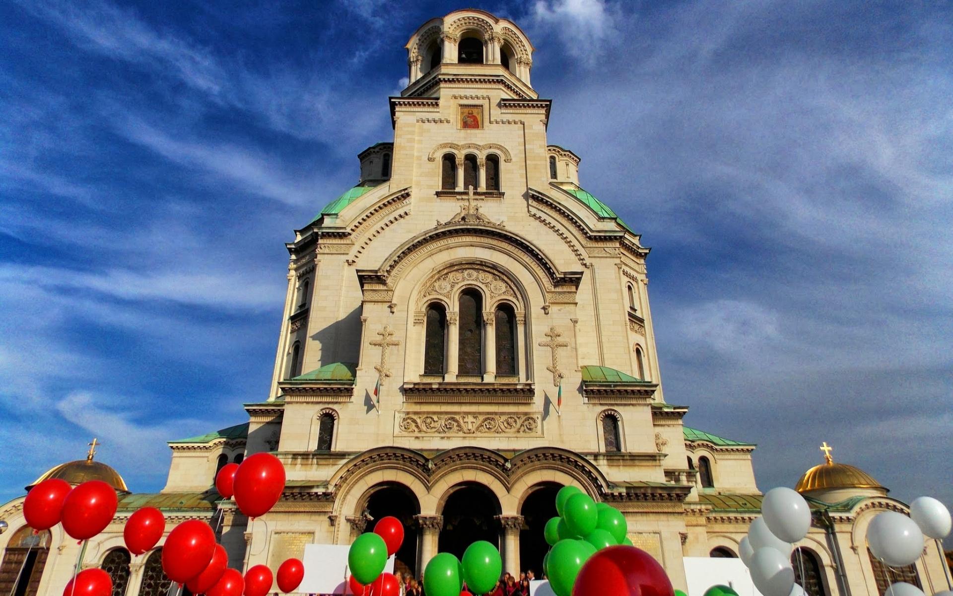 Religious Alexander Nevsky Cathedral Sofia 1920x1200