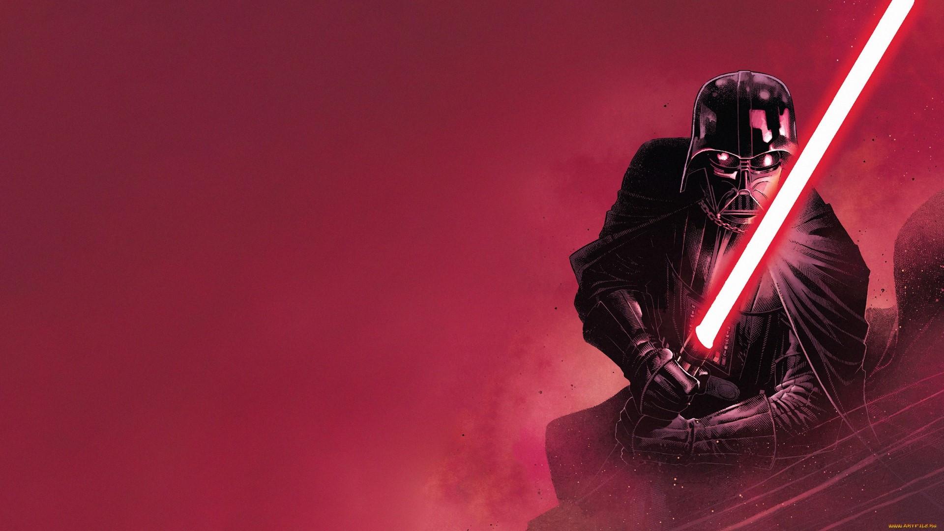 Star Wars Villains Darth Vader Sith Lightsaber Science Fiction Wallpaper Resolution 1920x1080 Id 269195 Wallha Com