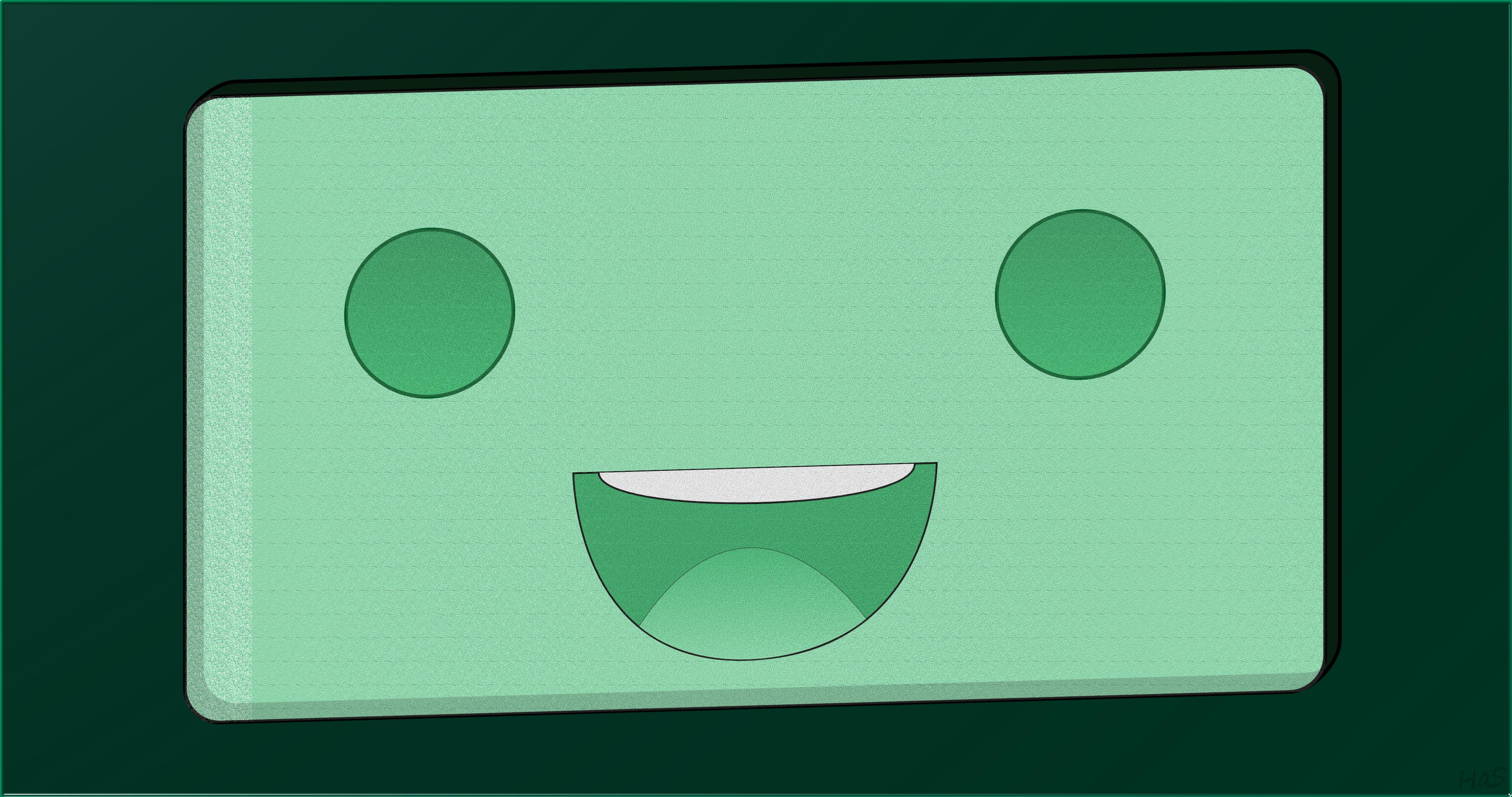 Adventure Time BMO Adventure Time Retro Smile 4096x2160