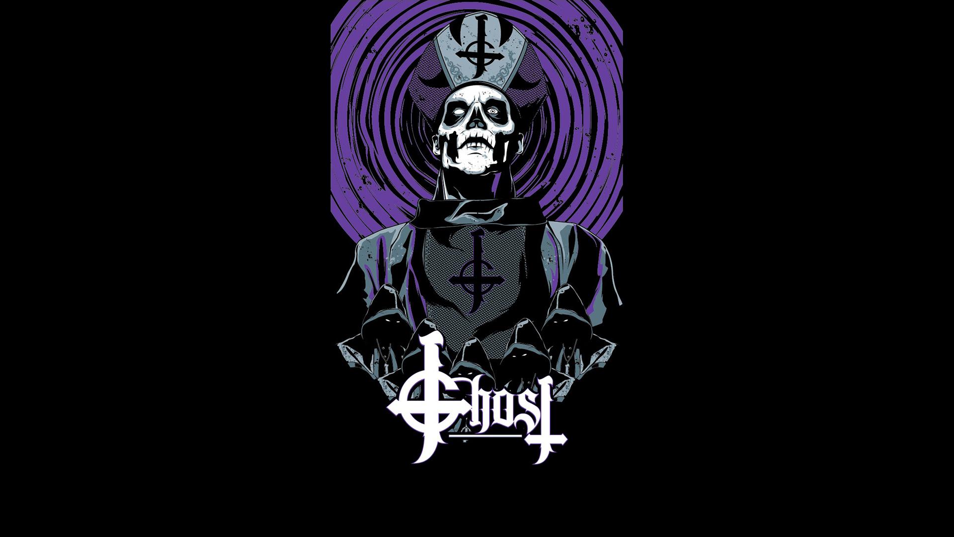 Ghost B C Ghost Papa Emeritus Purple Wallpaper Resolution 1920x1080 Id 237610 Wallha Com