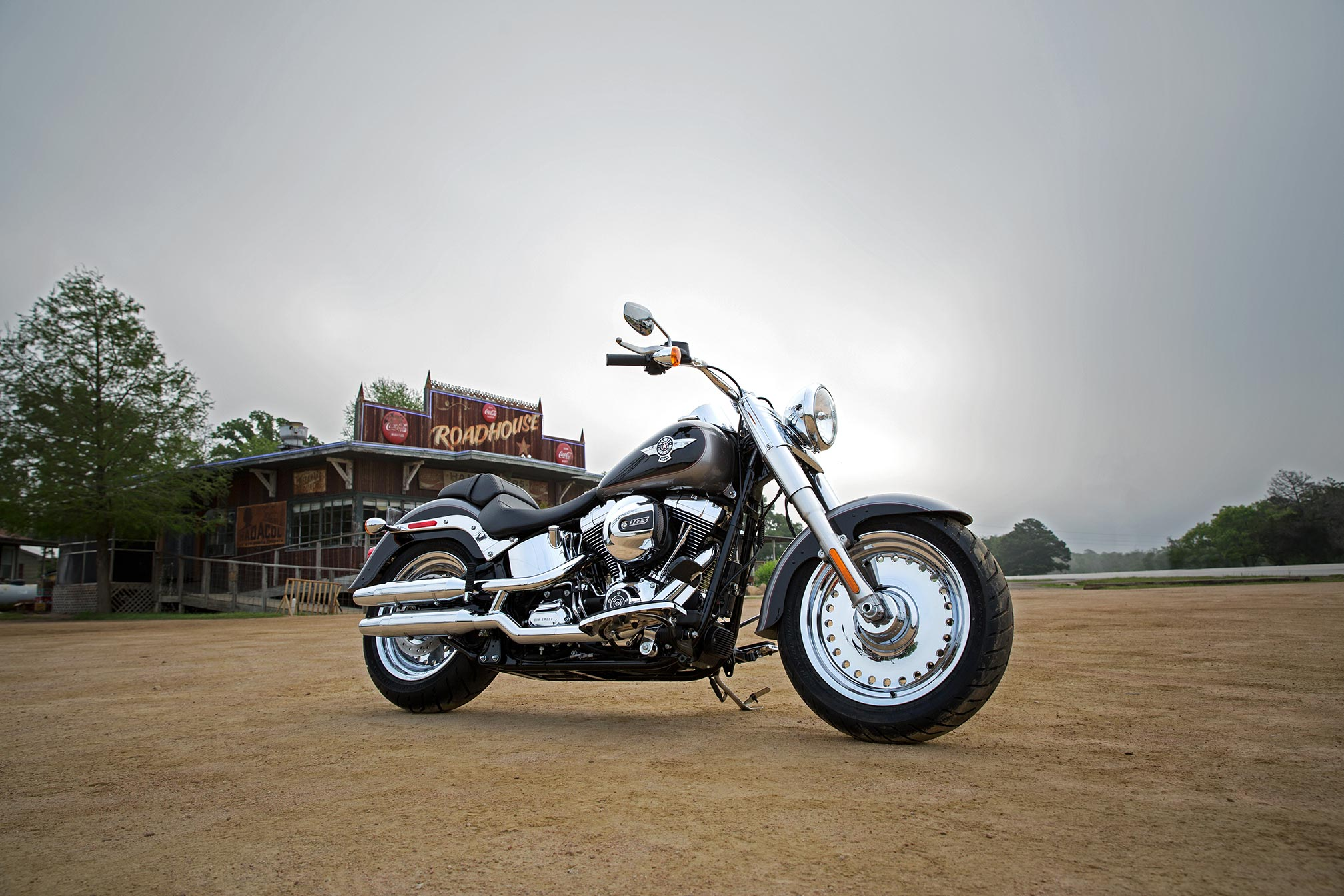 Harley Davidson Fat Boy Wallpaper Resolution 2017x1345 Id 310212 Wallha Com