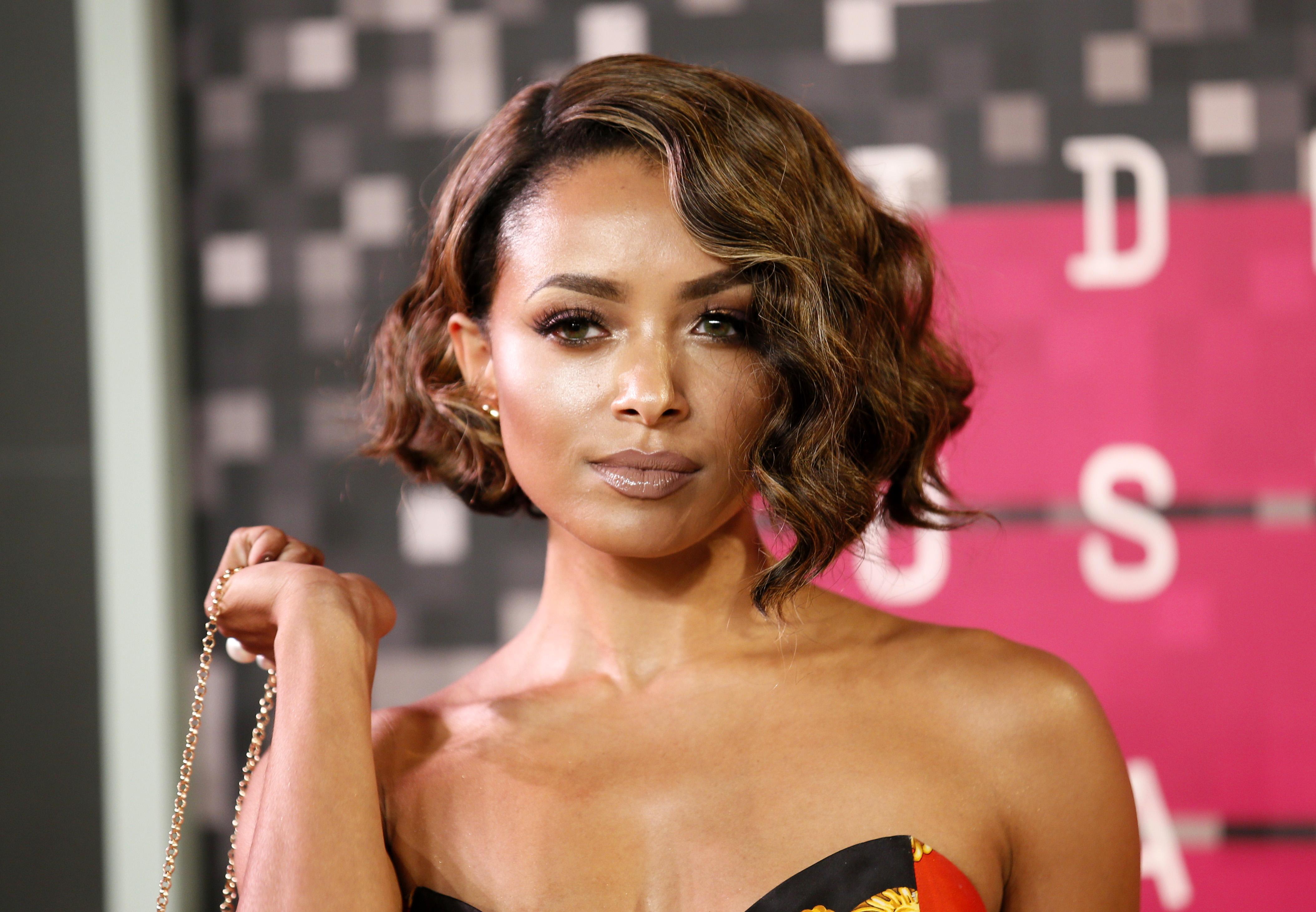 Kat Graham Actress American Short Hair Brunette Green Eyes Wallpaper Resolution 4218x2924 Id 319209 Wallha Com