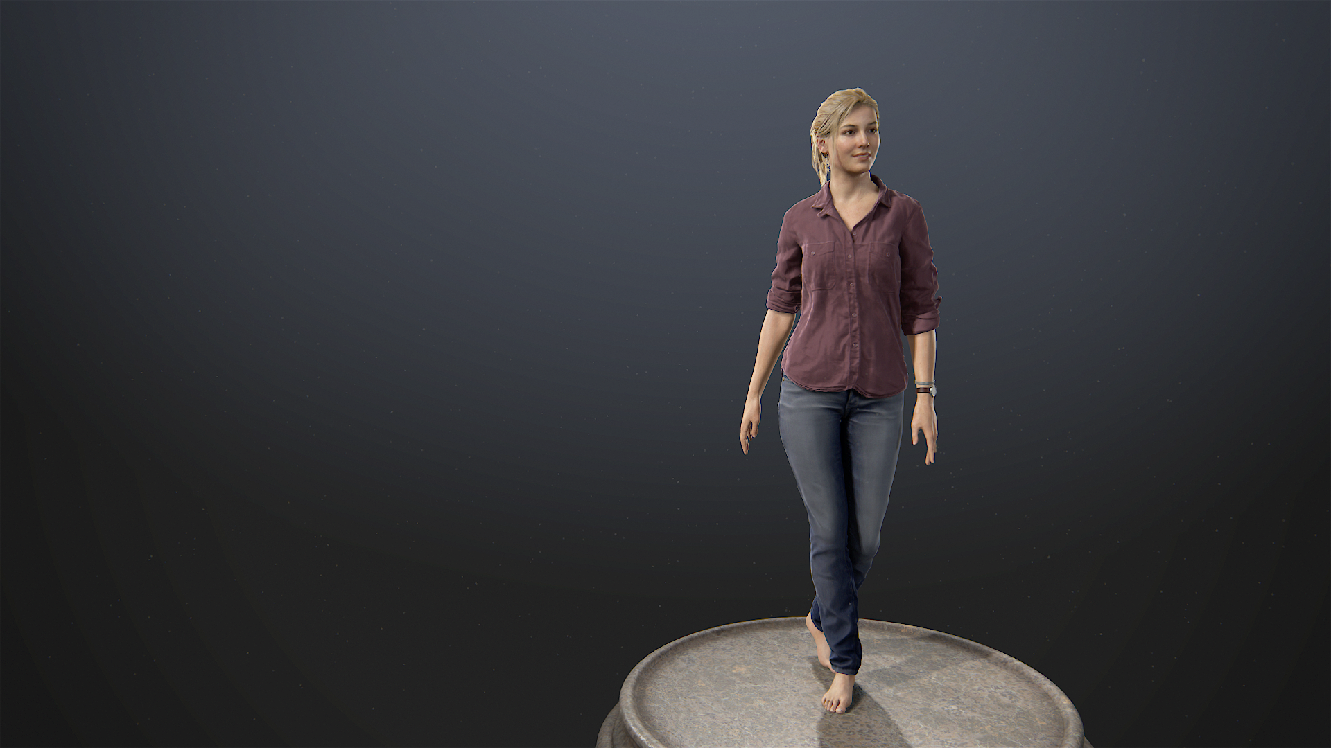 Uncharted 4 A Thiefs End Elena Fisher Barefoot Elena Video Games PlayStation 3 PlayStation 4 Playsta 1920x1080