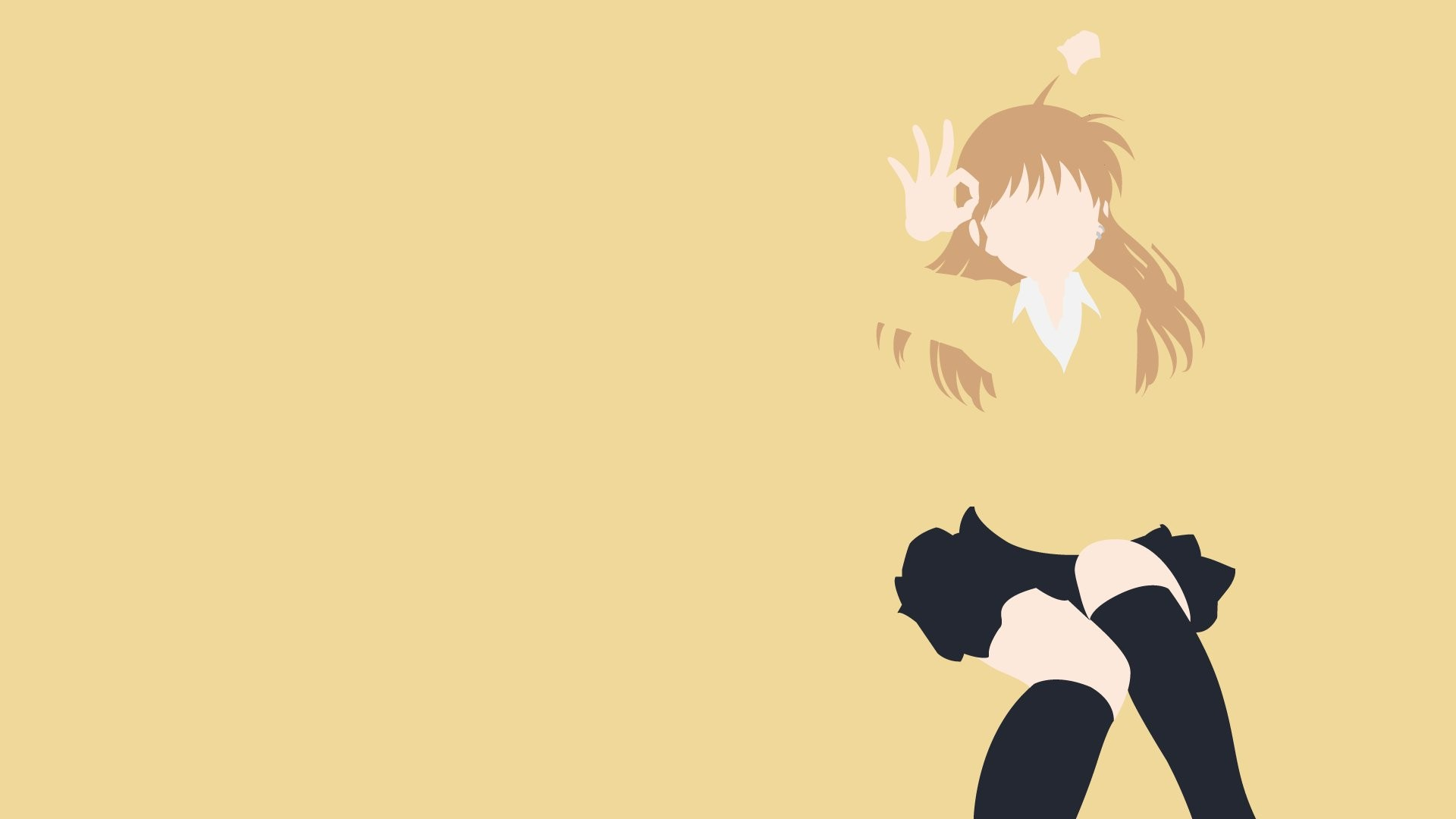 B Gata H Kei Anime Girls Yamada Beige 1920x1080