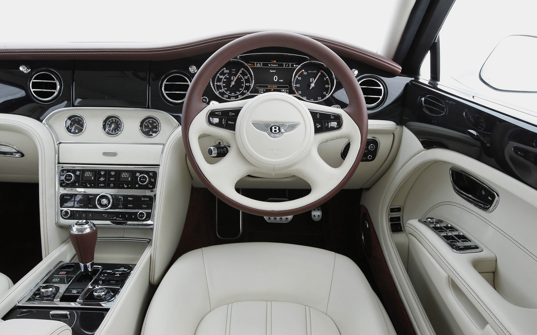Bentley Mulsanne Interior Car Luxury Dashboard Steering Wheel Wallpaper Resolution 2880x1800 Id 394265 Wallha Com
