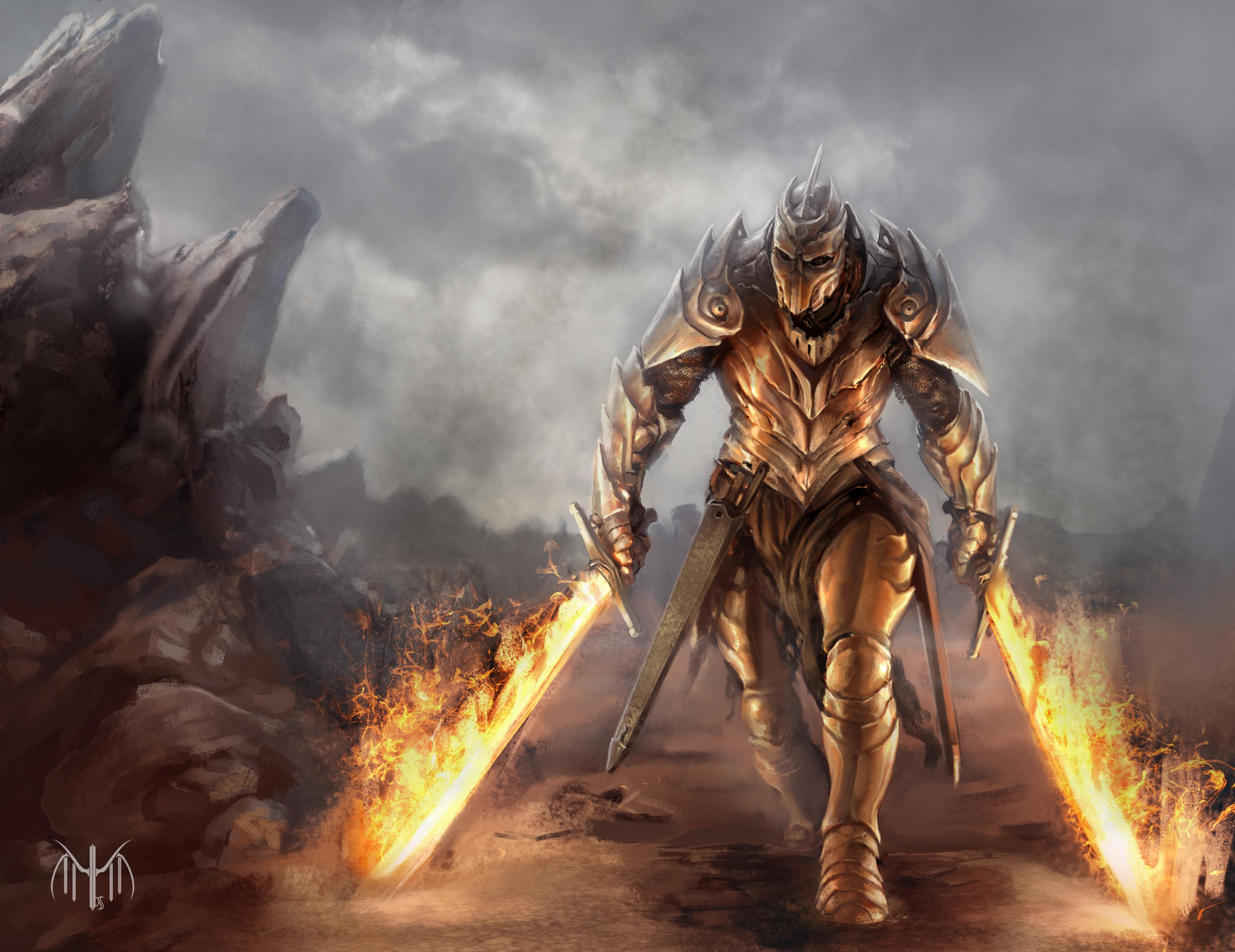 Fantasy Warrior 3313x2553