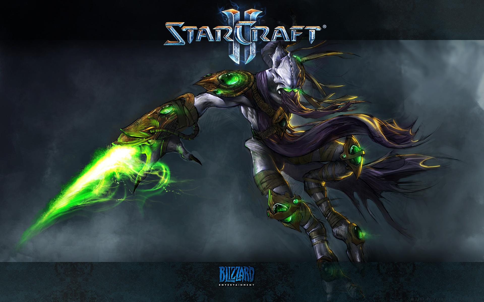 Protoss StarCraft Starcraft Ii Zeratul StarCraft 1920x1200