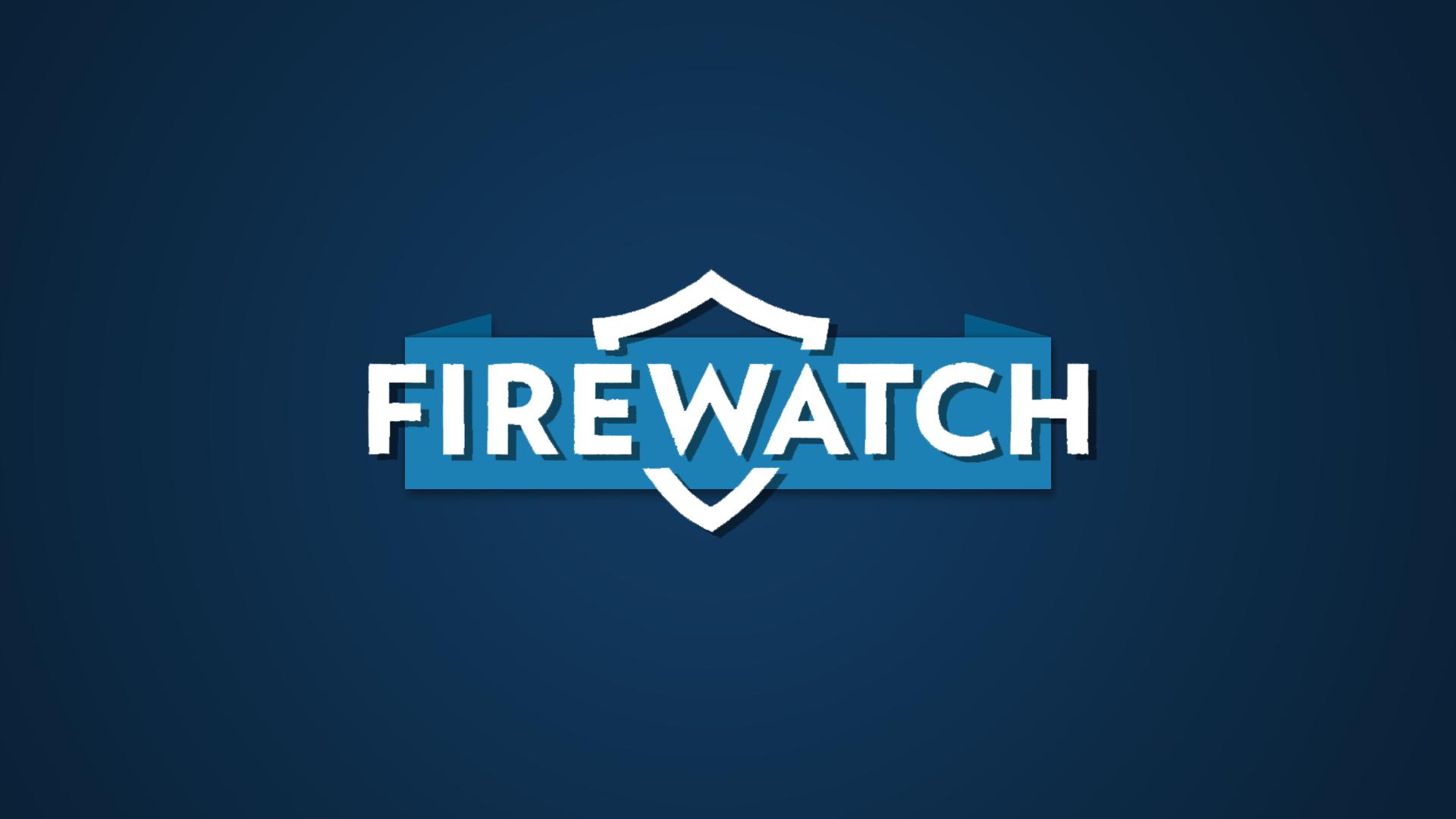 Firewatch Typography Blue Background 1920x1080