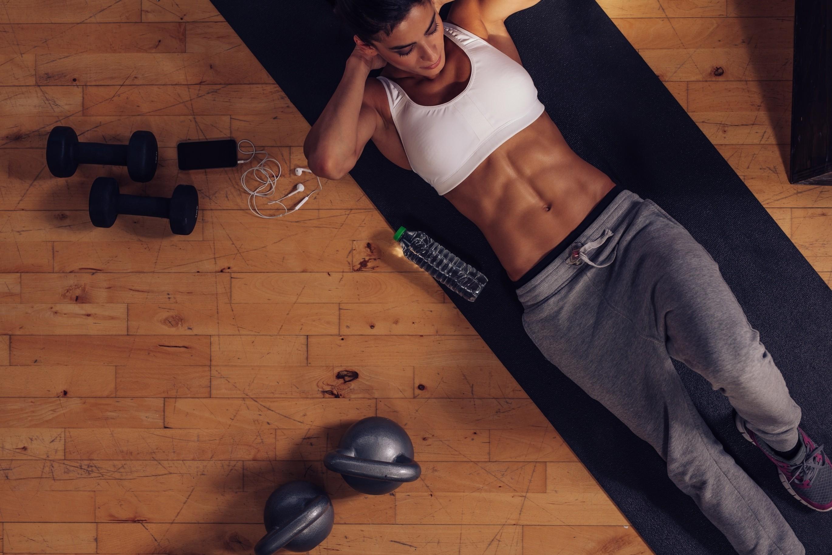 Women Model Sweat Pants Abs Sweatpants 2739x1826