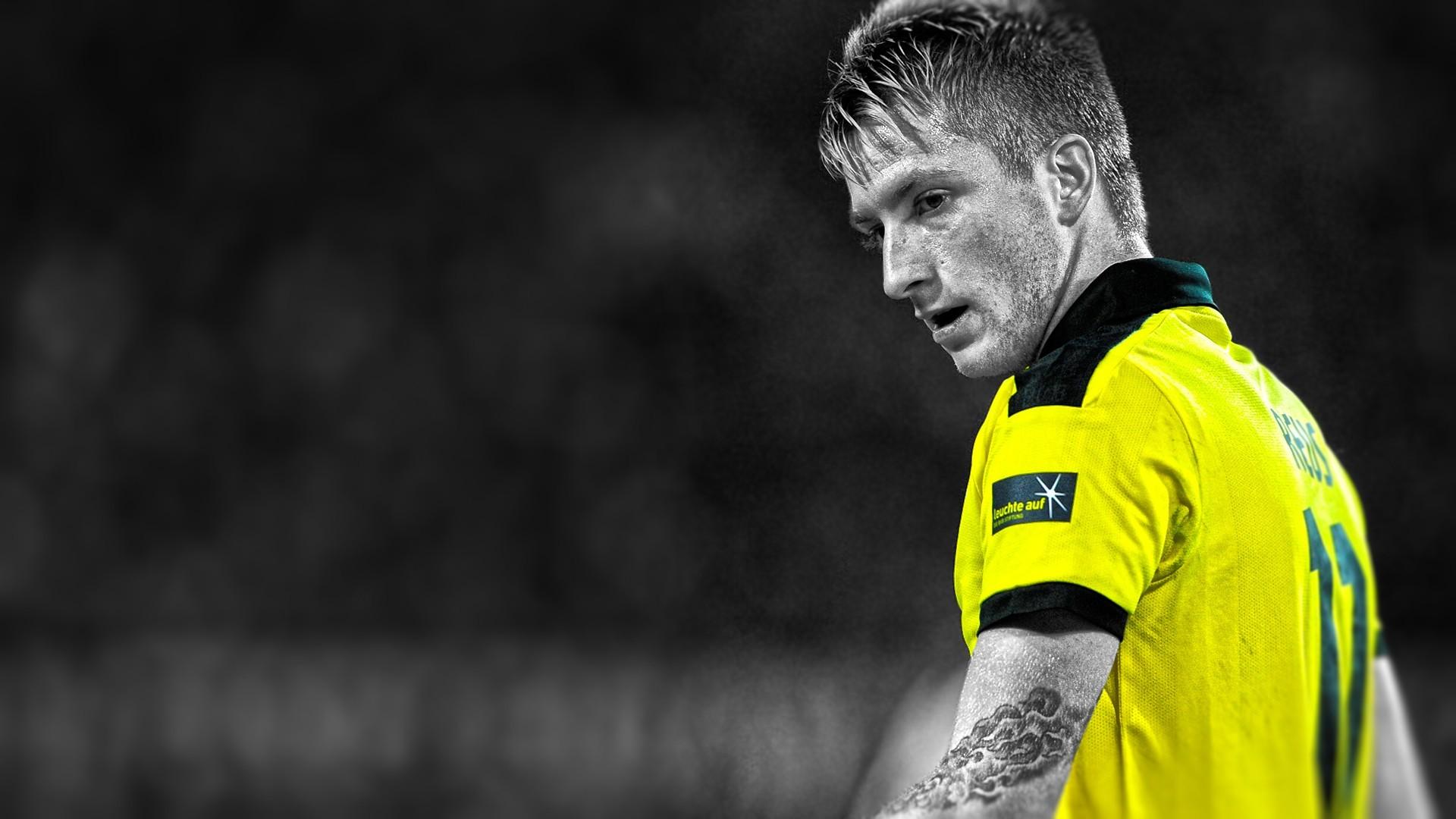 Marco Reus Borussia Dortmund Soccer Bvb Bundesliga Wallpaper Resolution 1920x1080 Id 413188 Wallha Com