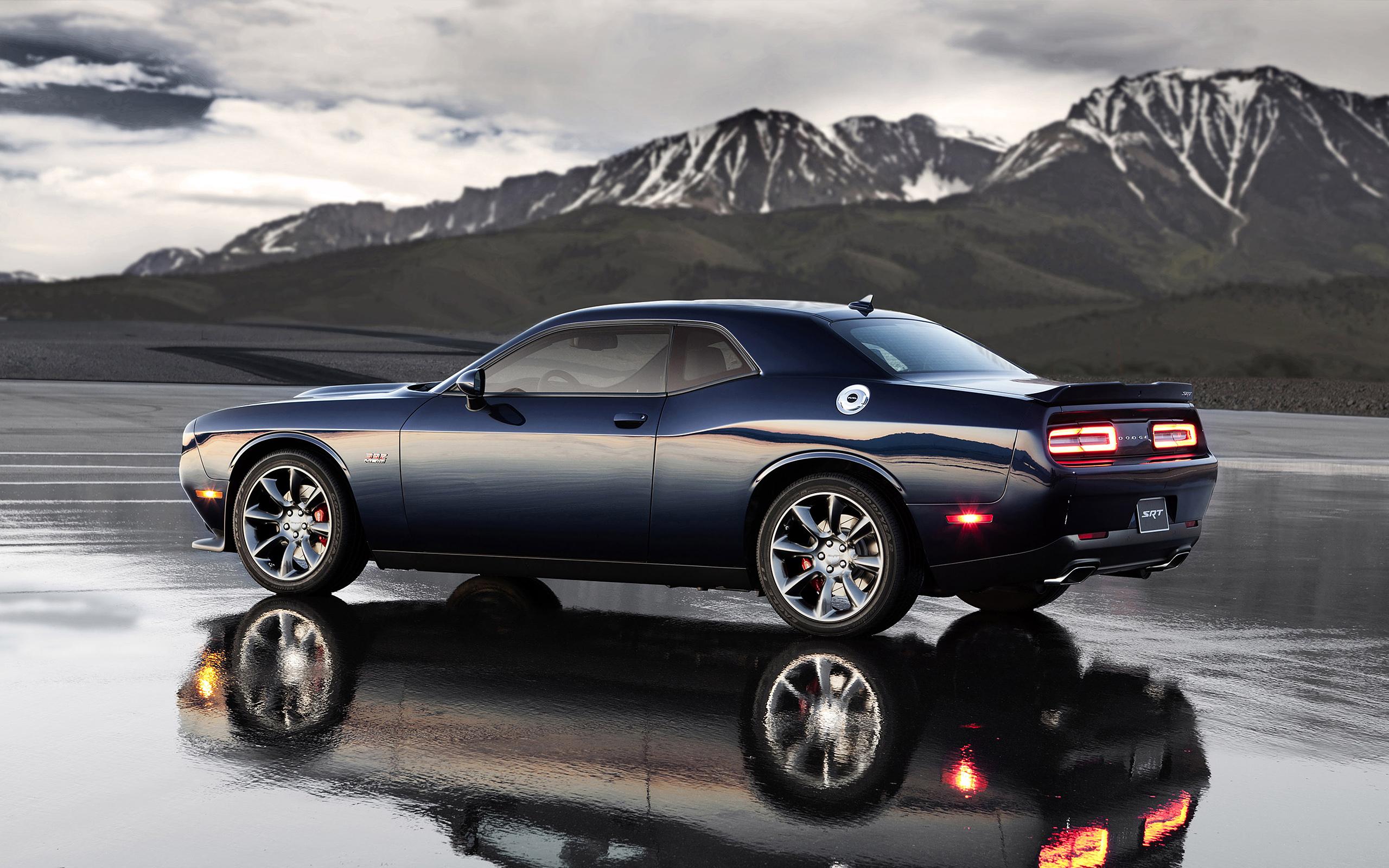 Dodge Challenger Car Mountain Dodge Challenger SRT Hellcat 2560x1600