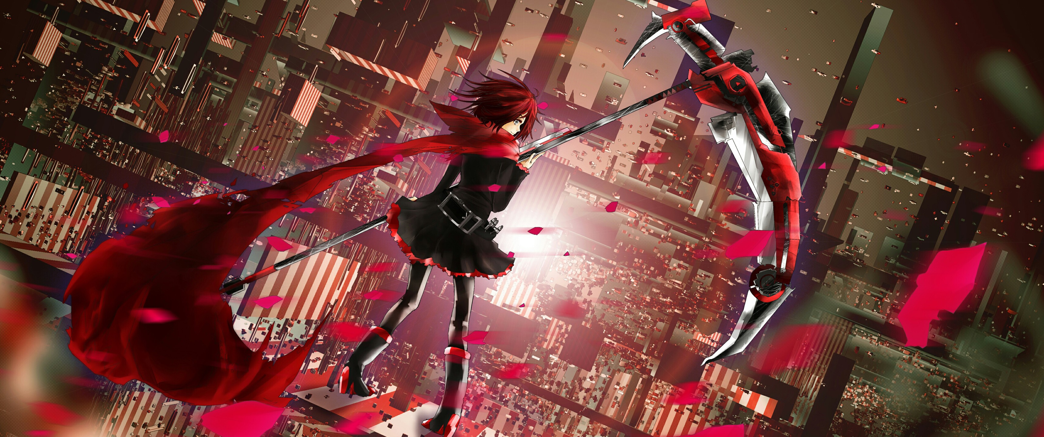 Anime Anime Girls Rwby Ruby Rose Character Wallpaper Resolution 3440x1440 Id 4274 Wallha Com