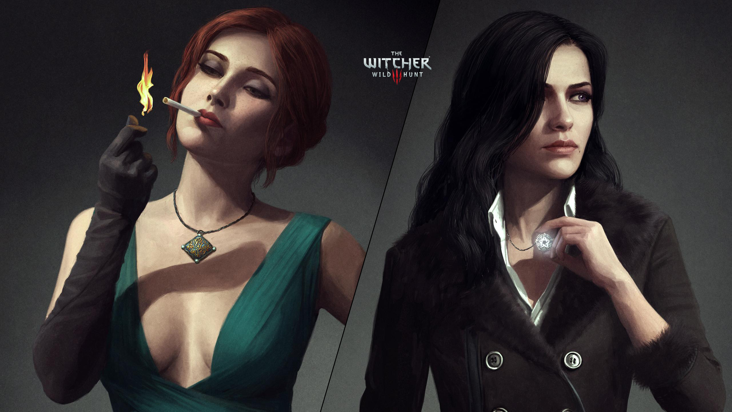23+ Witcher 3 Yennefer Or Triss  Background