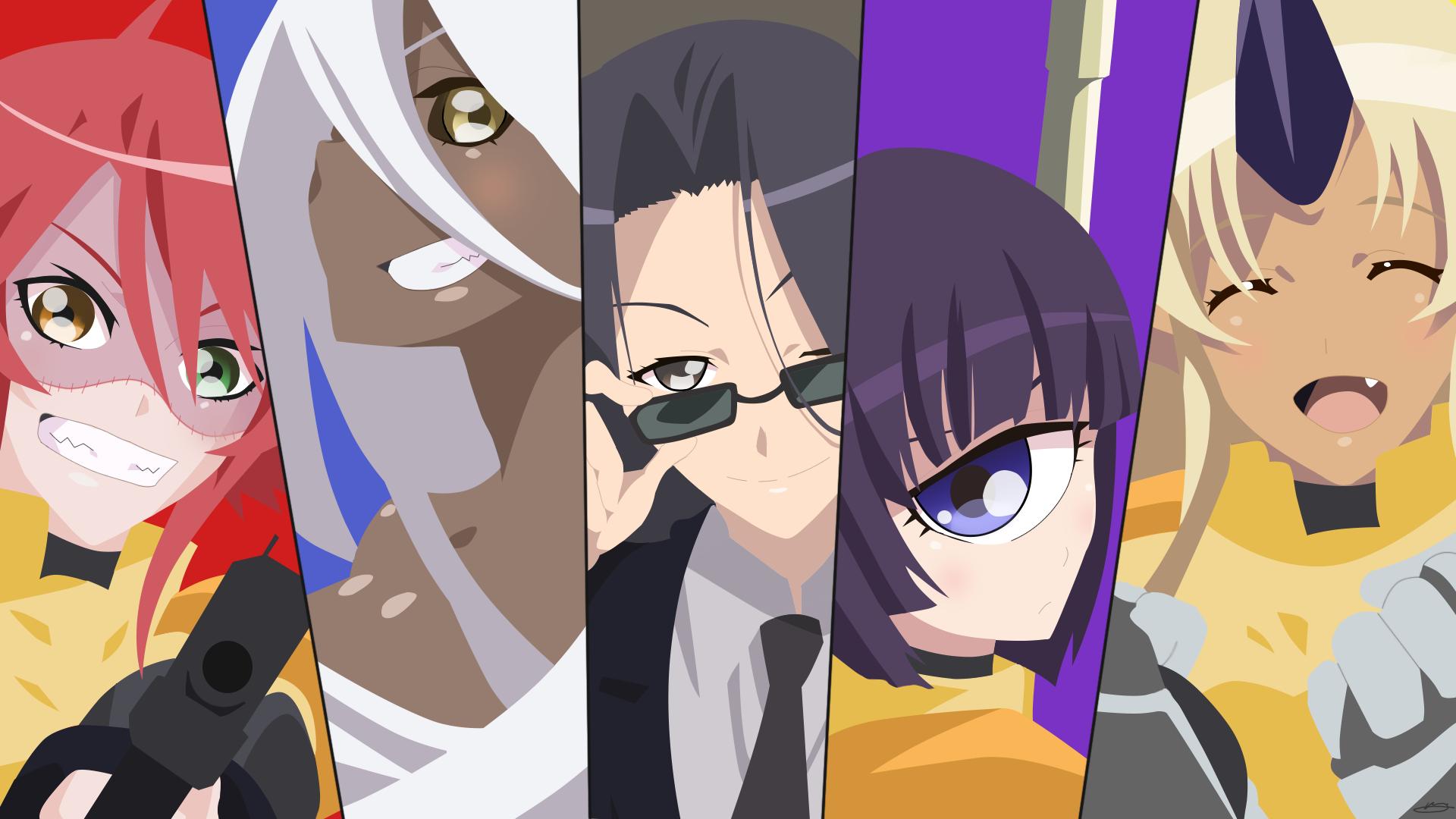 Anime Girls Monster Musume No Iru Nichijou Zombina Manako Smith San Tionishia 1920x1080