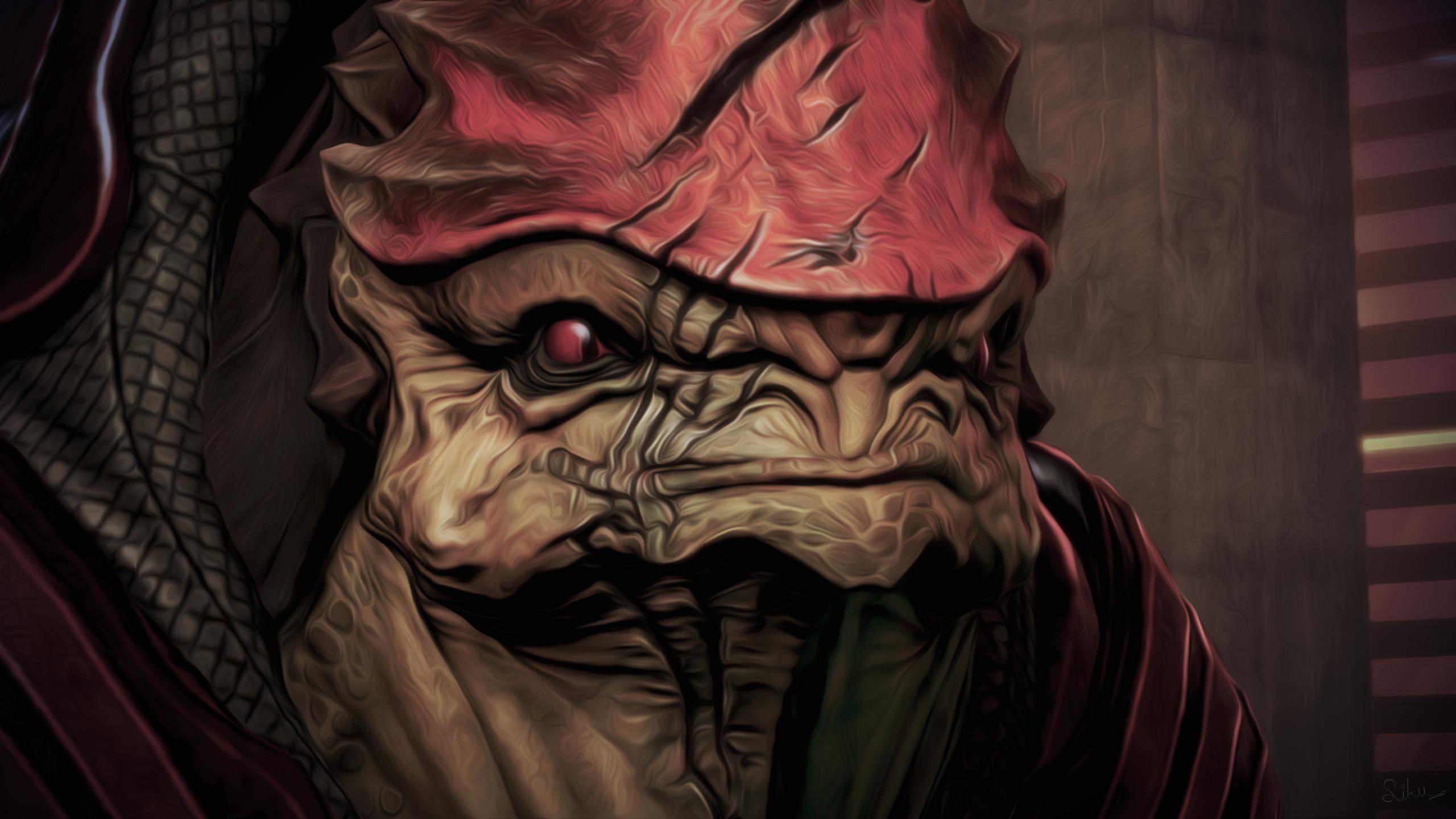 Urdnot Wrex Mass Effect 2560x1441
