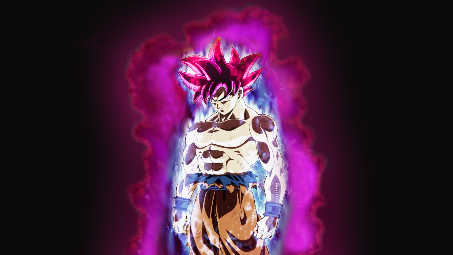 Son Goku Dragon Ball Dragon Ball Super Black Goku Rose Wallpaper Resolution 1920x1080 Id 521334 Wallha Com