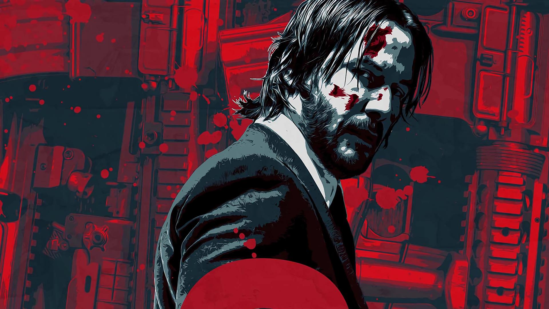 John Wick Chapter 2 Keanu Reeves 1920x1080