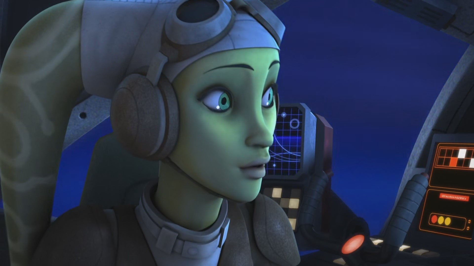 Hera Syndulla Star Wars Rebels Tv Wallpaper Resolution 1920x1080 Id 557619 Wallha Com