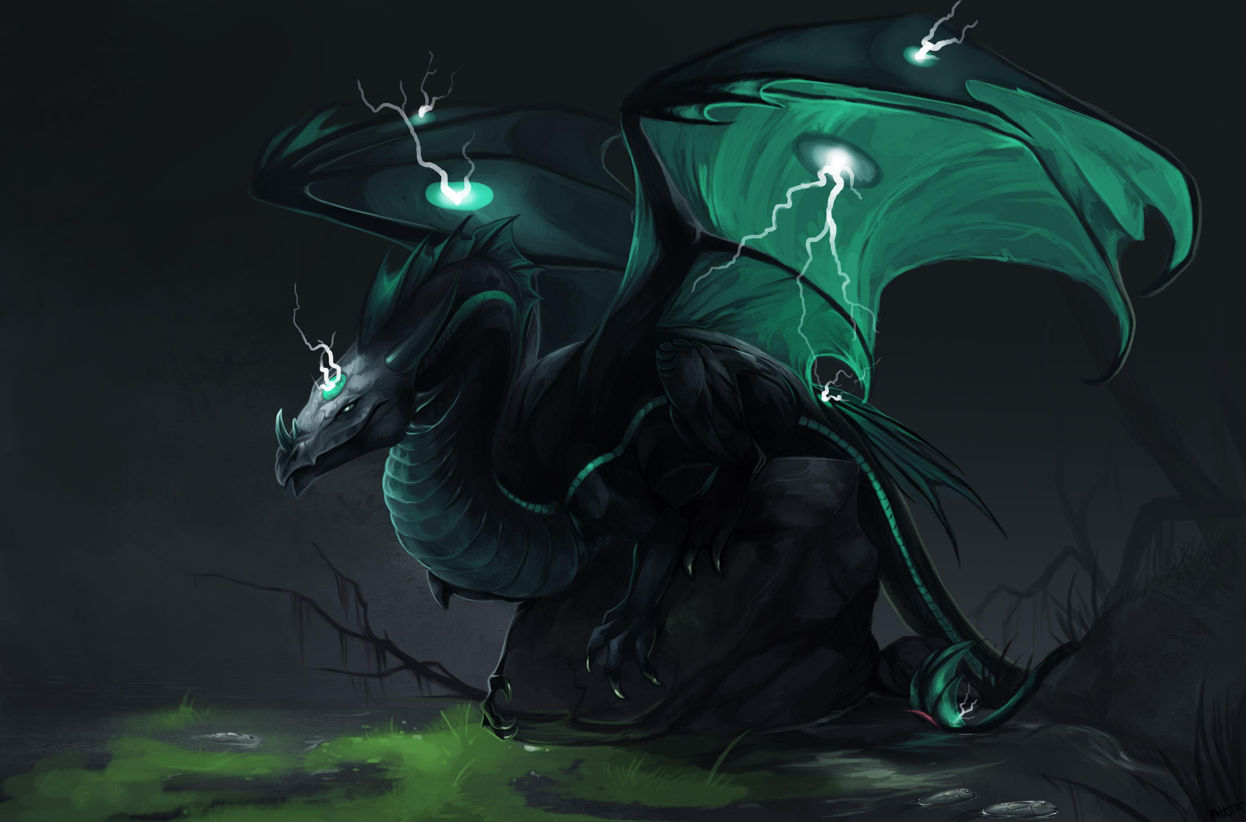 Dragon Lightning 4171x2751