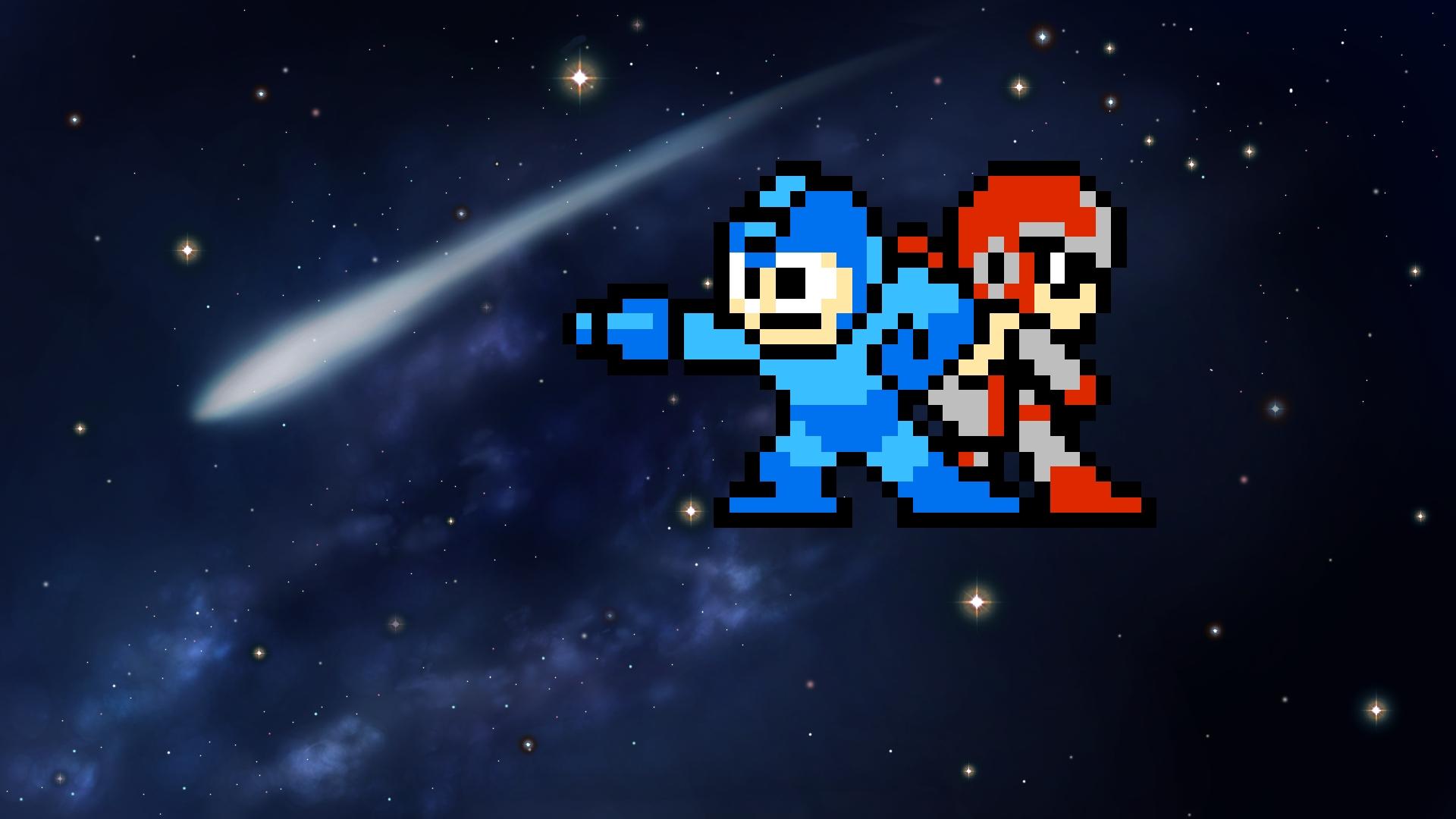 Video Game Mega Man 2 Wallpaper Resolution 1920x1080 Id 596330 Wallha Com