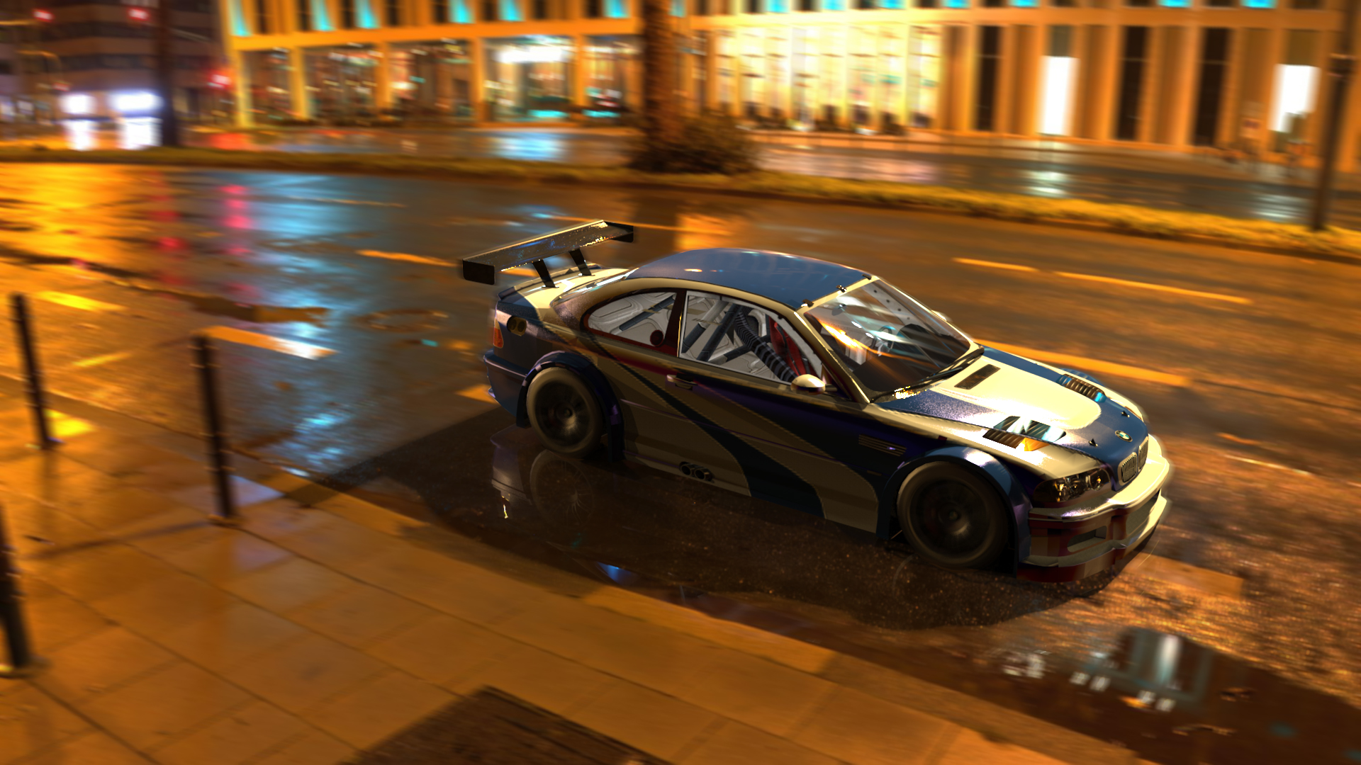 Bmw M3 Gtr Need For Speed Most Wanted Game Art Car Bmw E46 Bmw 3 Series High Angle Wallpaper Resolution 1920x1080 Id 545213 Wallha Com