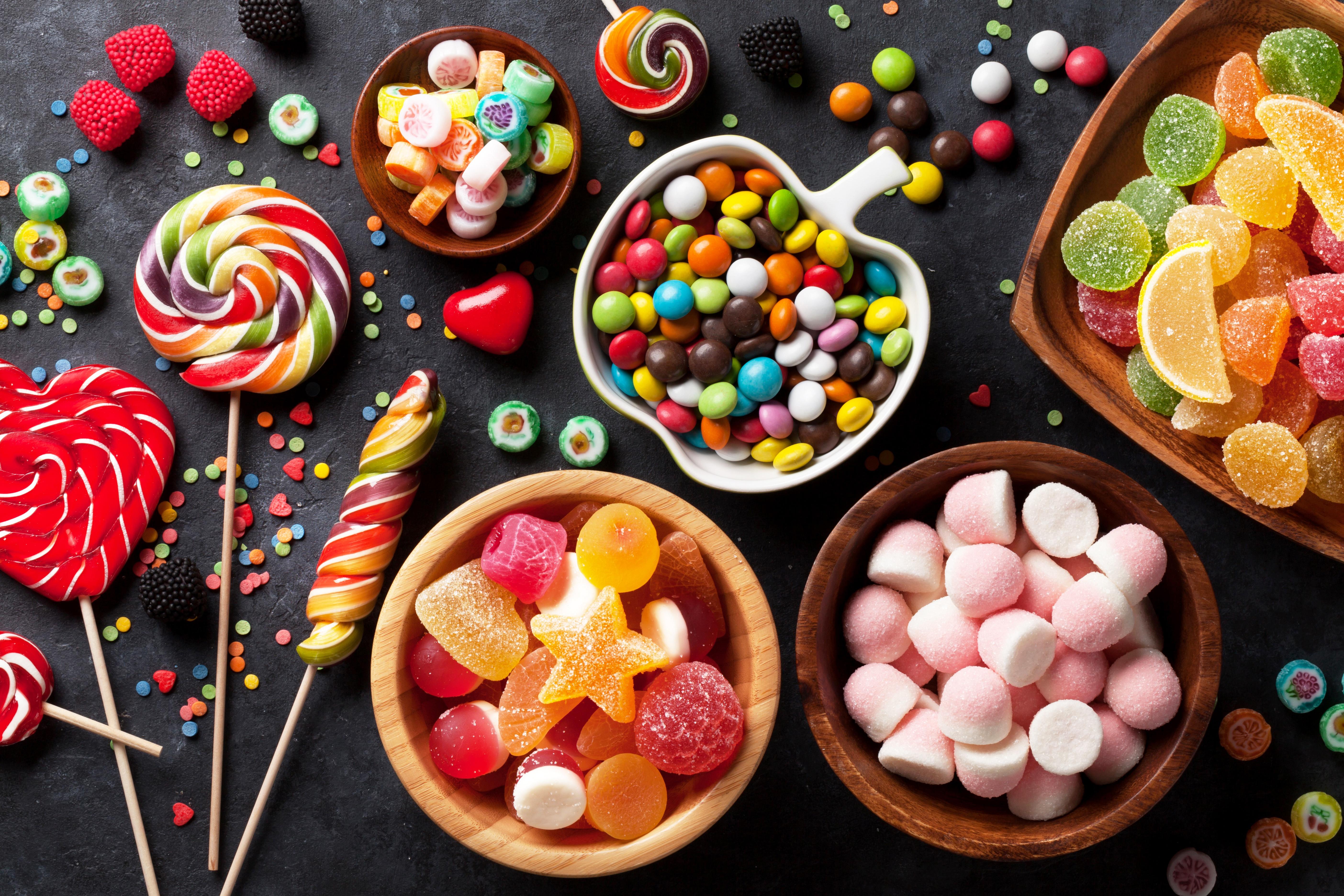 Candy Sweets Colors Lollipop 5616x3744