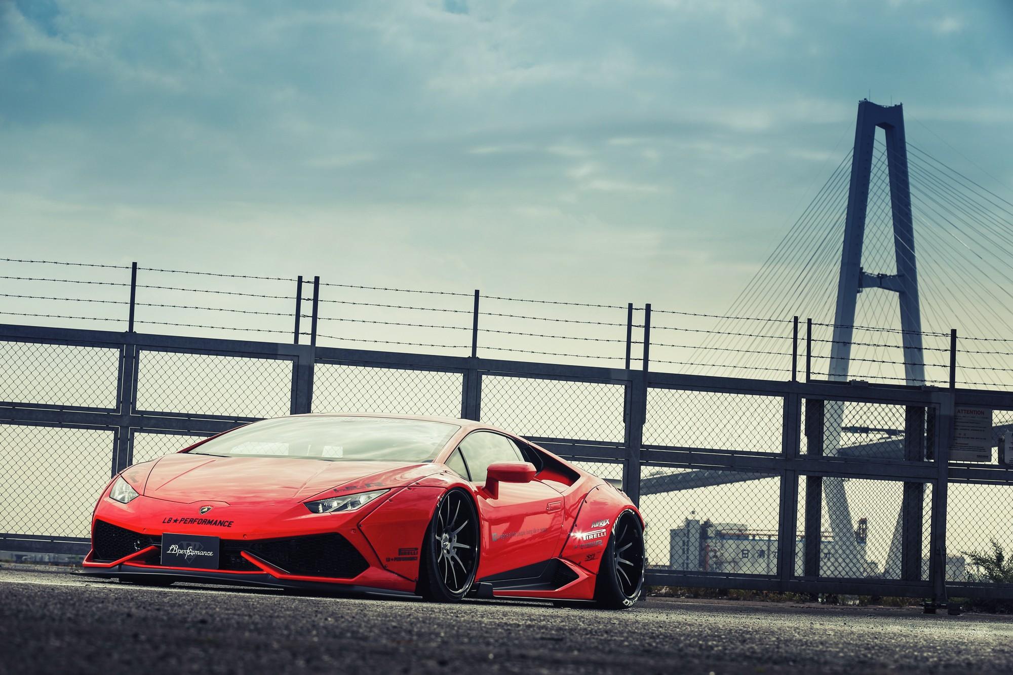 Liberty Walk LB Performance Lamborghini Lamborghini Huracan LP 610 4 Widebody Car 2000x1333