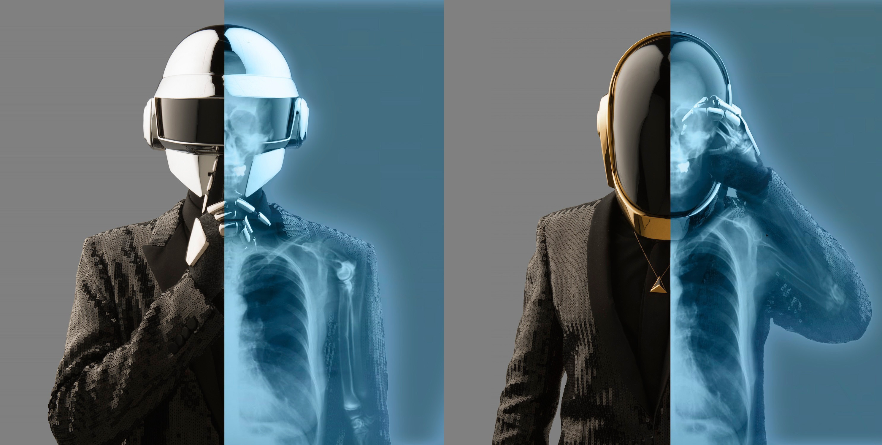 Daft Punk Band French Music Guy Manuel De Homem Christo Thomas Bangalter 2972x1500