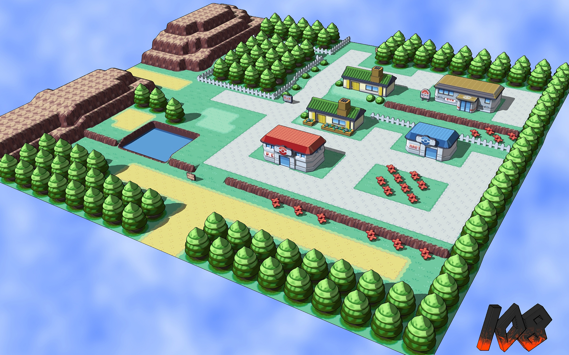 Video Game Pokemon FireRed And LeafGreen 1920x1200