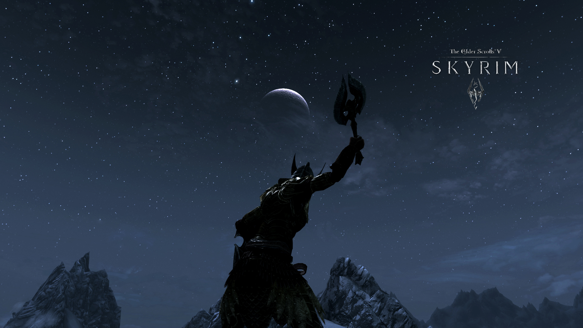 The Elder Scrolls Skyrim Video Game Sky 1920x1080