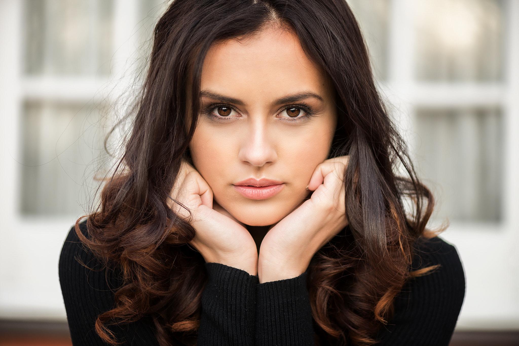 Women Face Portrait Depth Of Field Michelle Rosillo 2048x1367