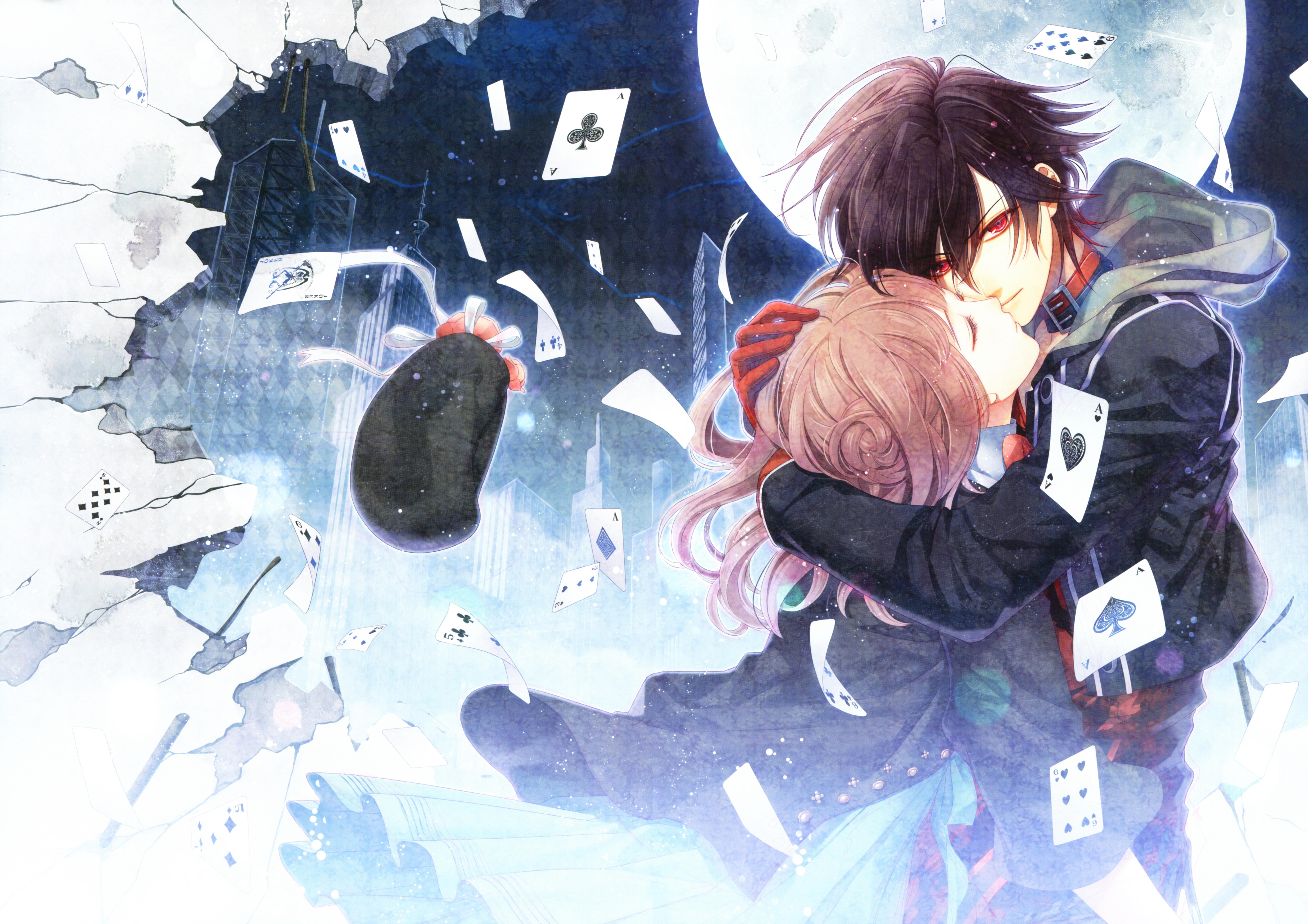 Shin Amnesia Otome Game Wallpaper Resolution 8000x5650 Id Wallha Com