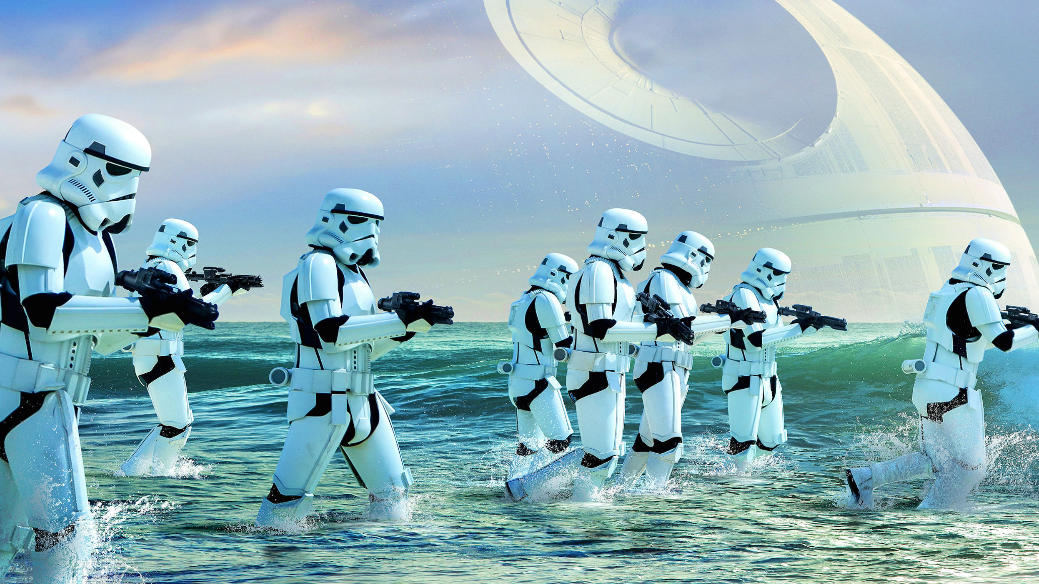 Stormtrooper Death Star 2064x1161