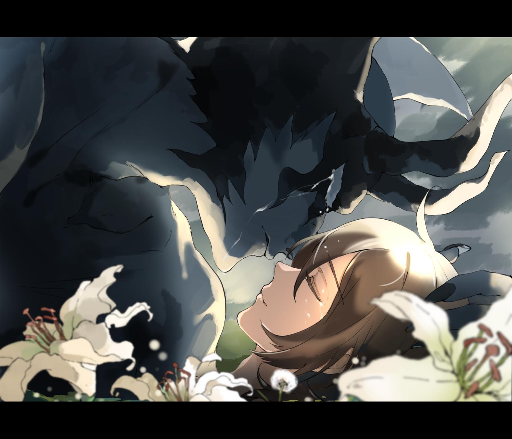 Devilman Crybaby Miki Makimura Akira Fudo Demon Crying Anime Girls Anime Boys 2d Demon Horns Closed Wallpaper Resolution 1654x1417 Id 671731 Wallha Com