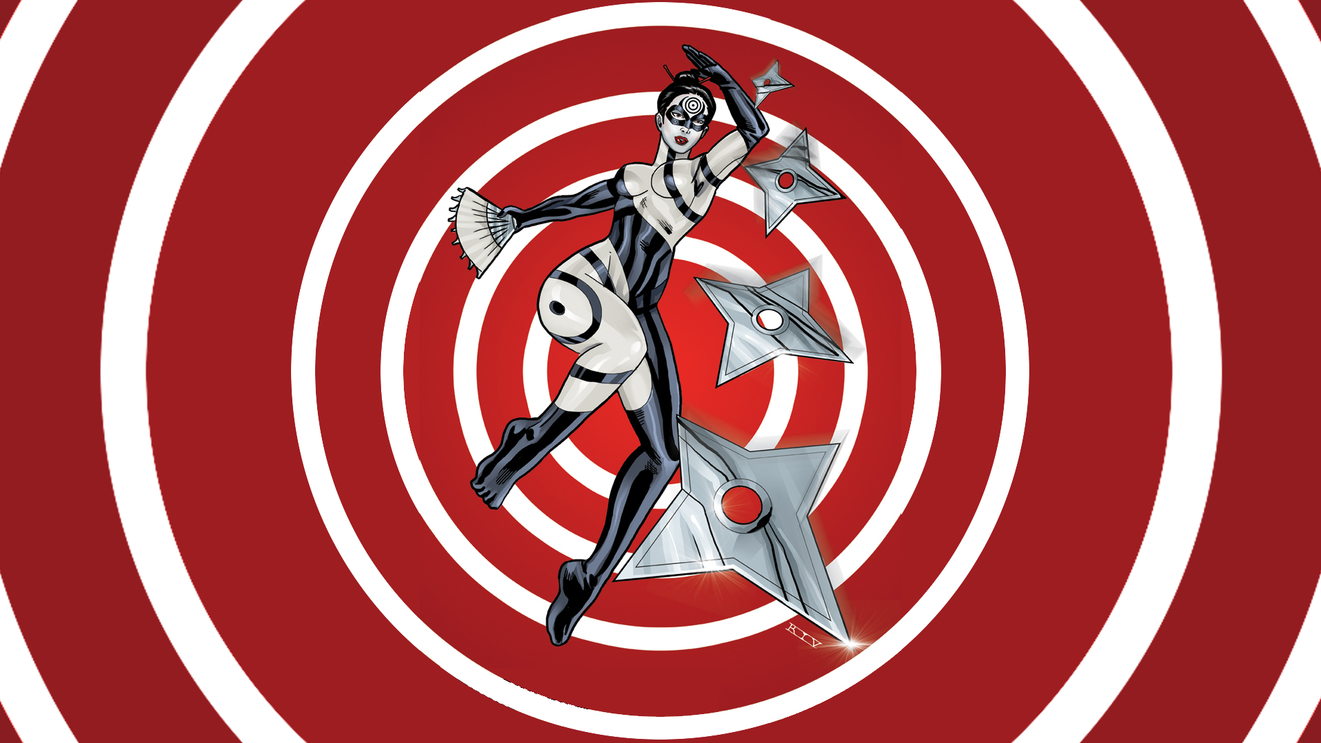 Lady Bullseye Marvel Comics Wallpaper - Resolution ...