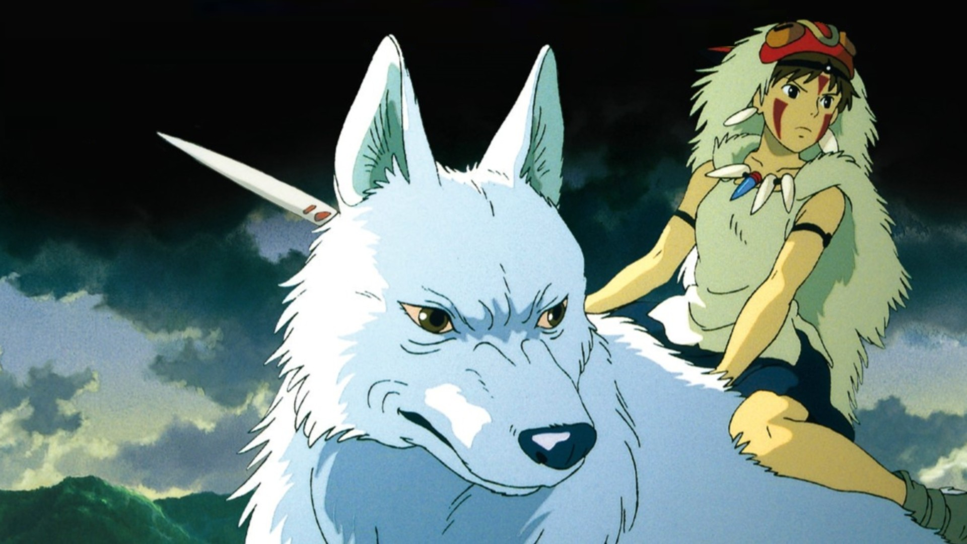 Studio Ghibli Princess Mononoke Anime Anime Girls Wallpaper Resolution 1920x1080 Id 636243 Wallha Com