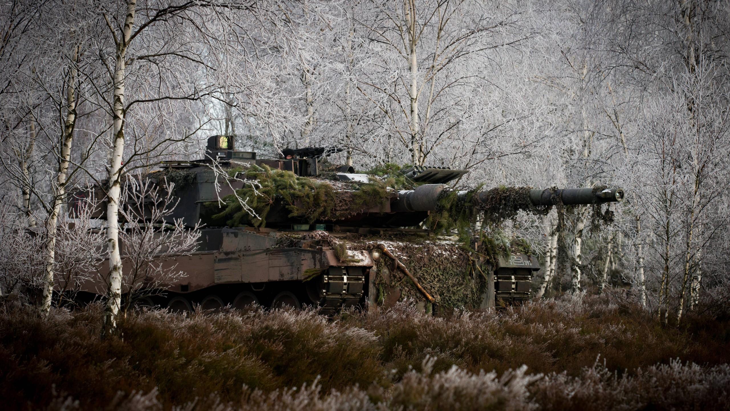 Military Tank Leopard 2 Bundeswehr Wallpaper Resolution 2560x1440 Id 624371 Wallha Com