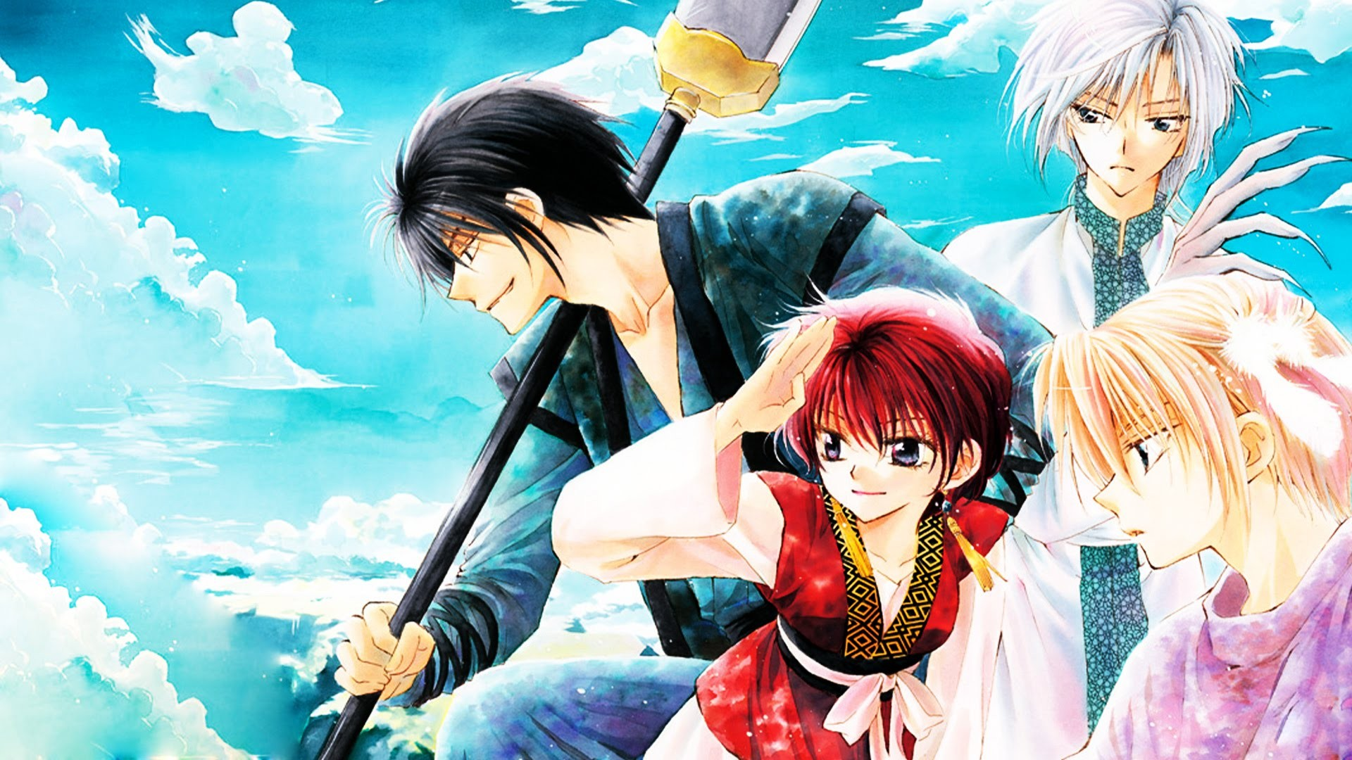 Akatsuki No Yona Yona Akatsuki No Yona Son Hak Kija Akatsuki No Yona Yoon Akatsuki No Yona Wallpaper Resolution 1920x1080 Id 643062 Wallha Com