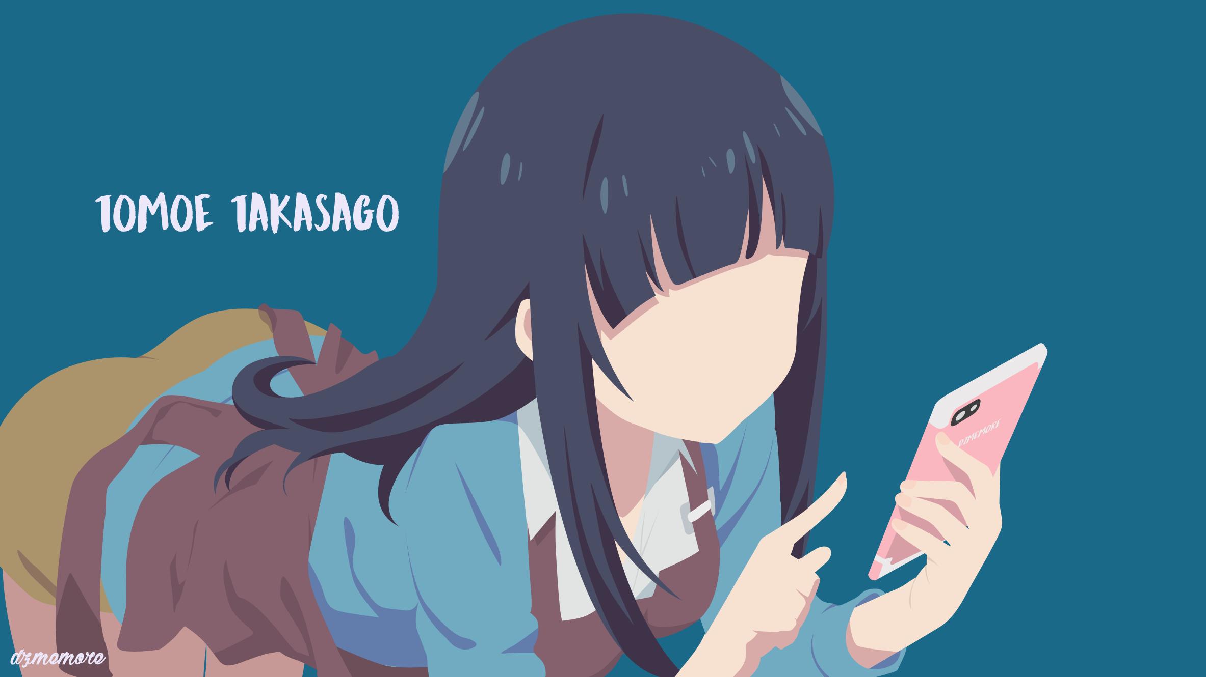 Eromanga Sensei Anime Girls Takasago Tomoe 2366x1330
