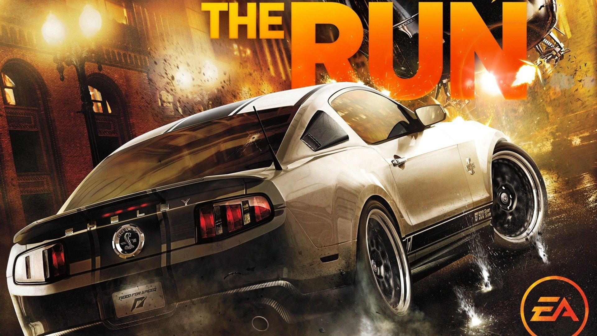 Car Need For Speed The Run Video Games Shelby GT500 Super Snake 1920x1080