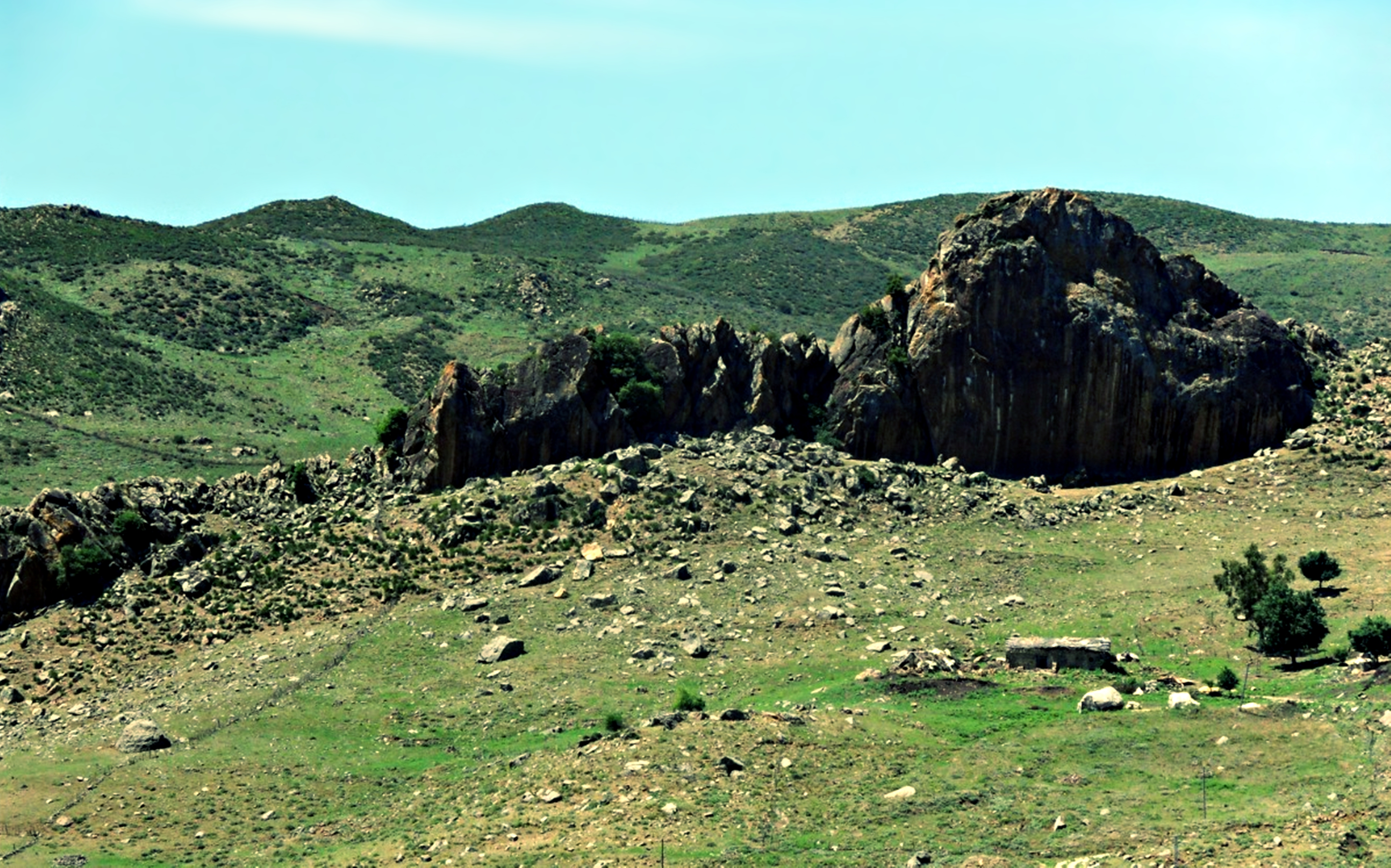 Landscape Hill Algeria Africa Mountain Earth Nature 3841x2397