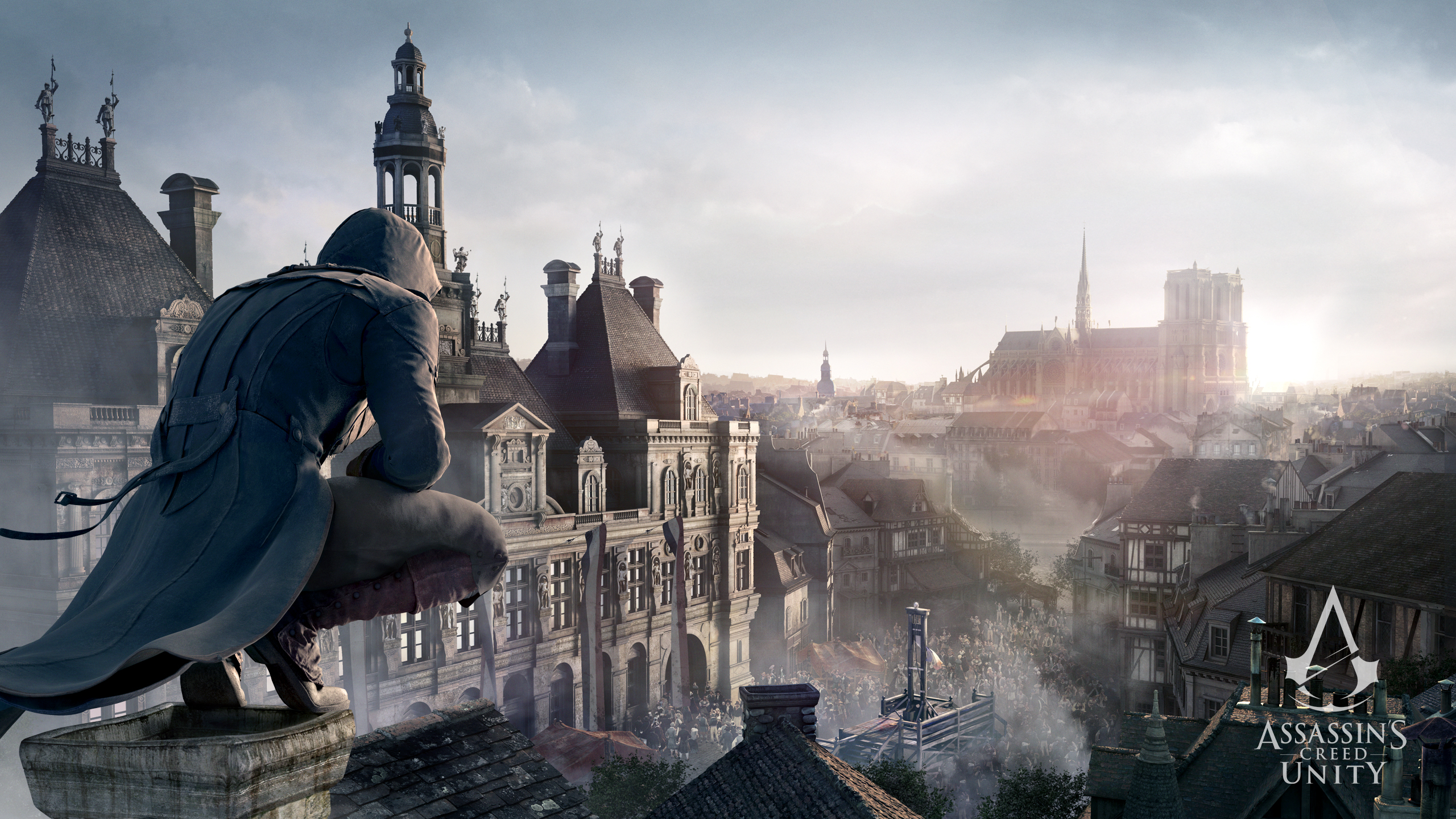 Video Game Assassins Creed Unity 2560x1440