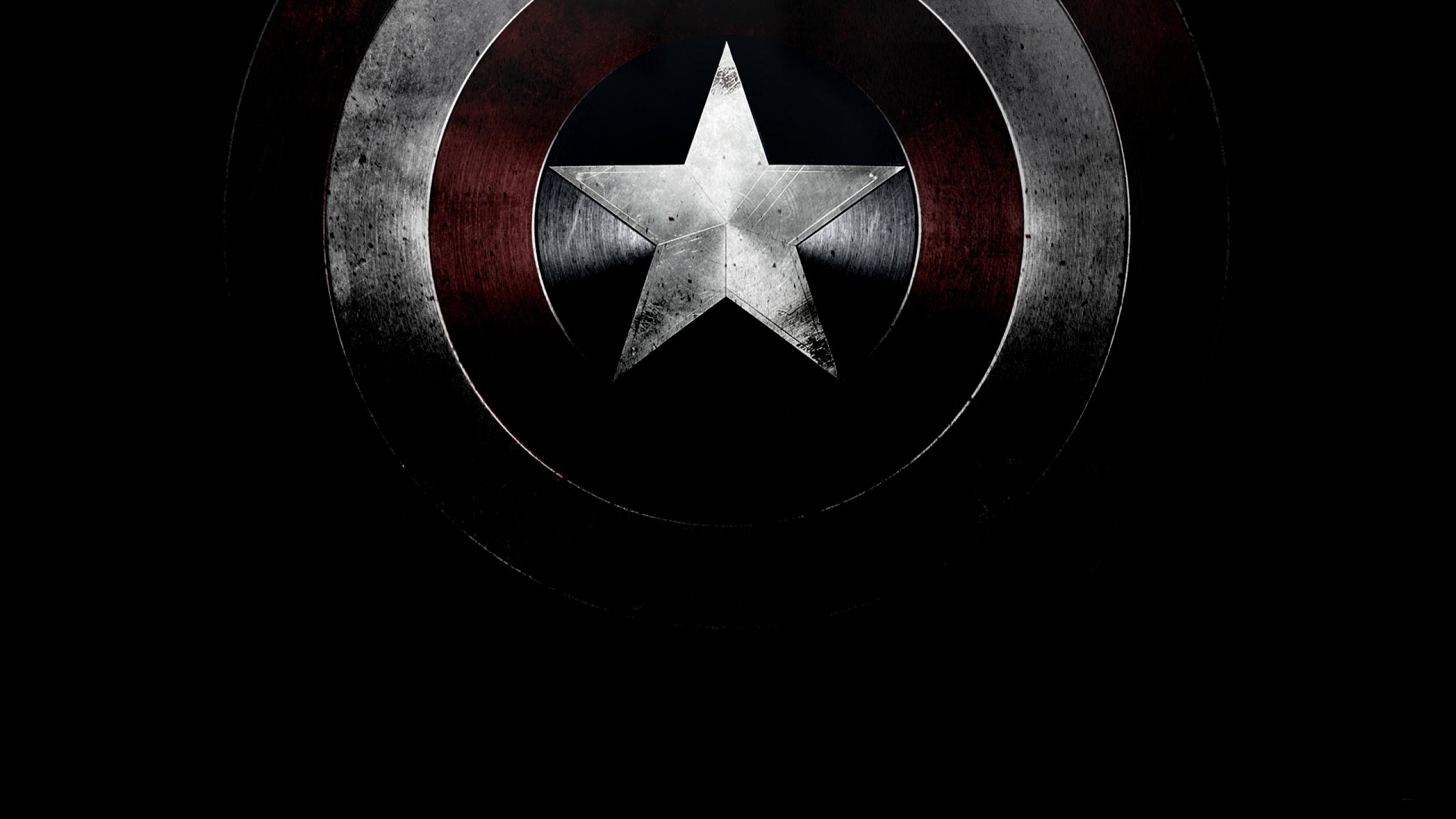 Marvel Comics Logo Captain America Wallpaper Resolution 2560x1440 Id 671363 Wallha Com