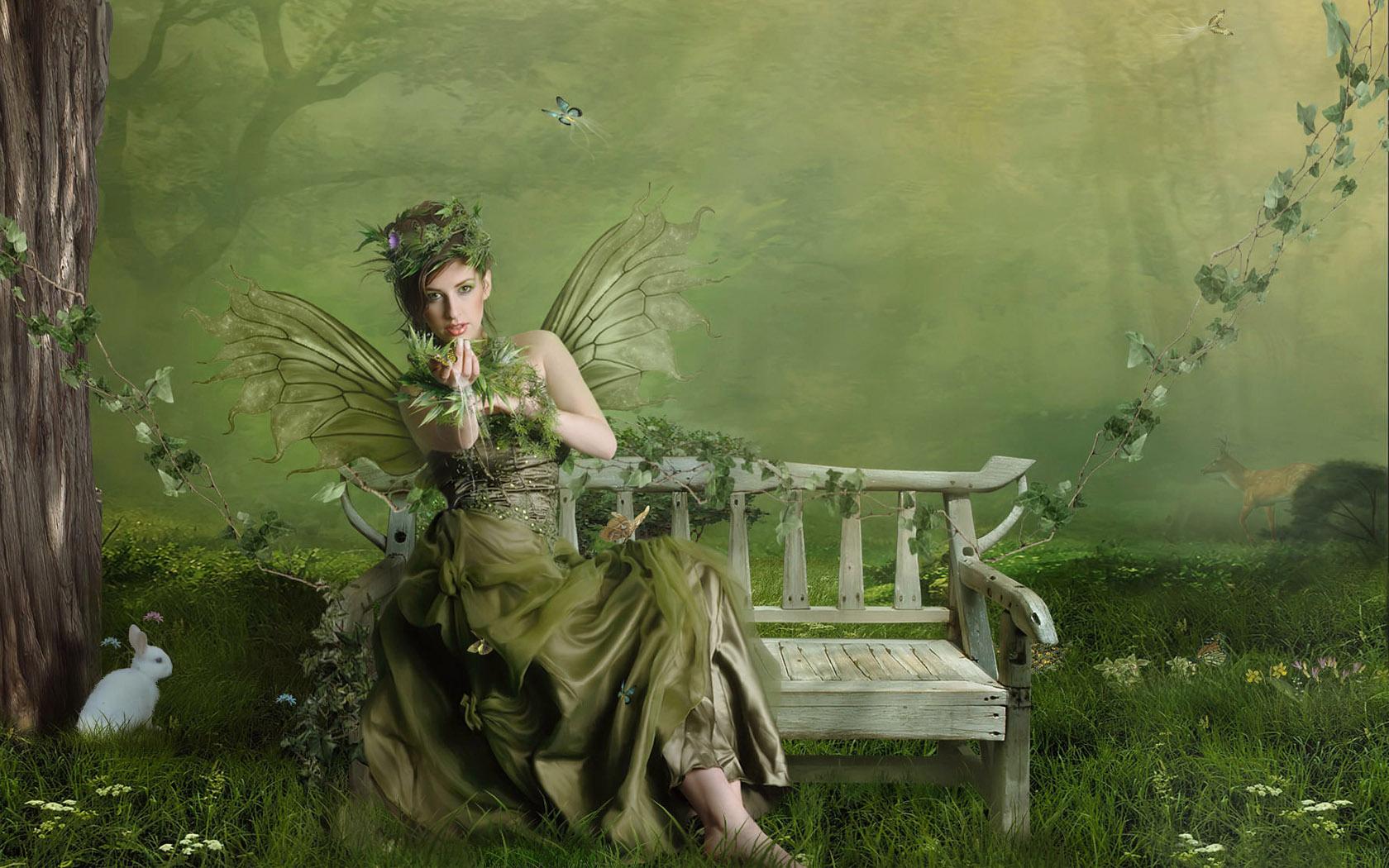 Green Fairy 1680x1050